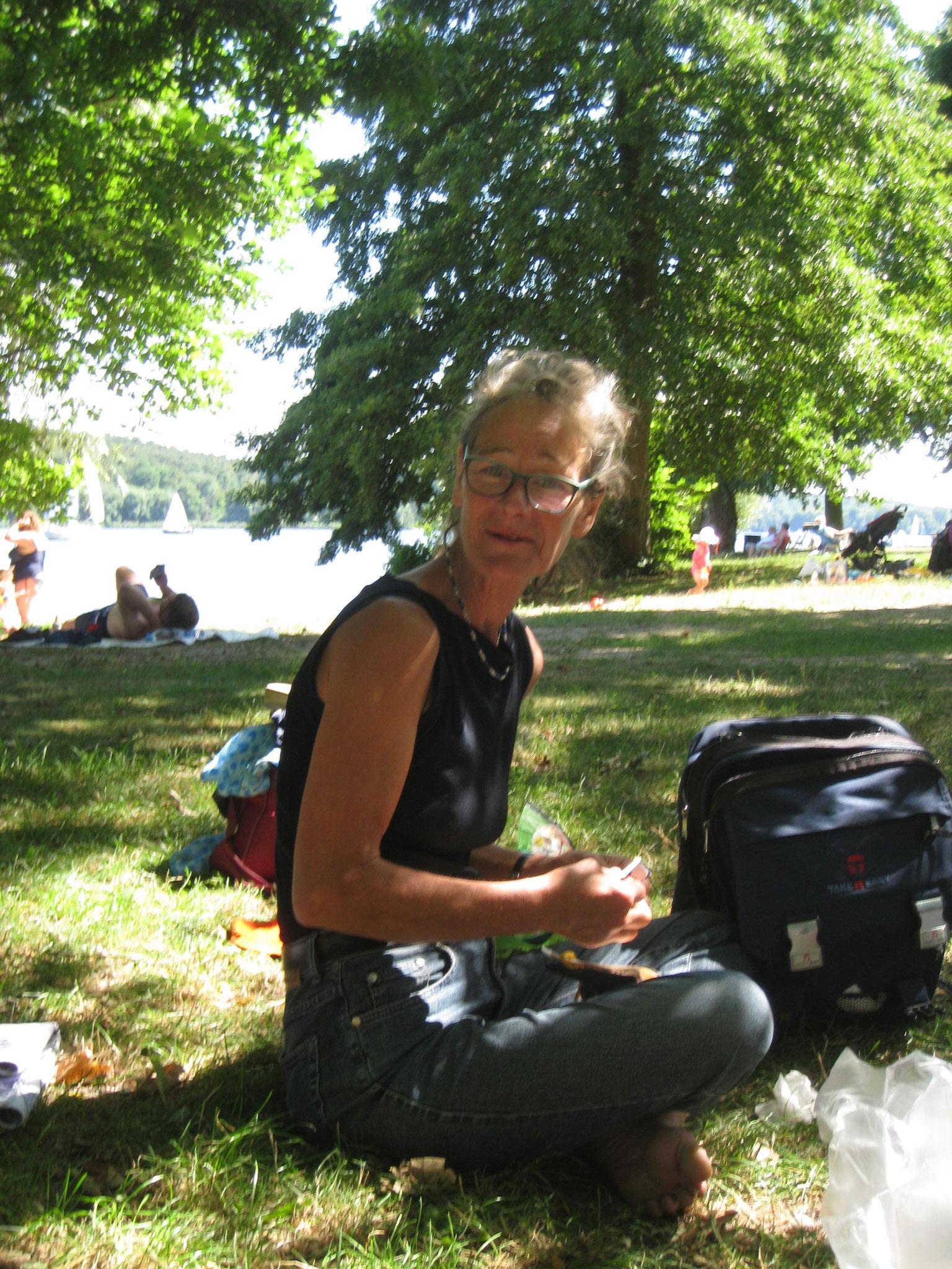 Auf der Badewiese an der Havel