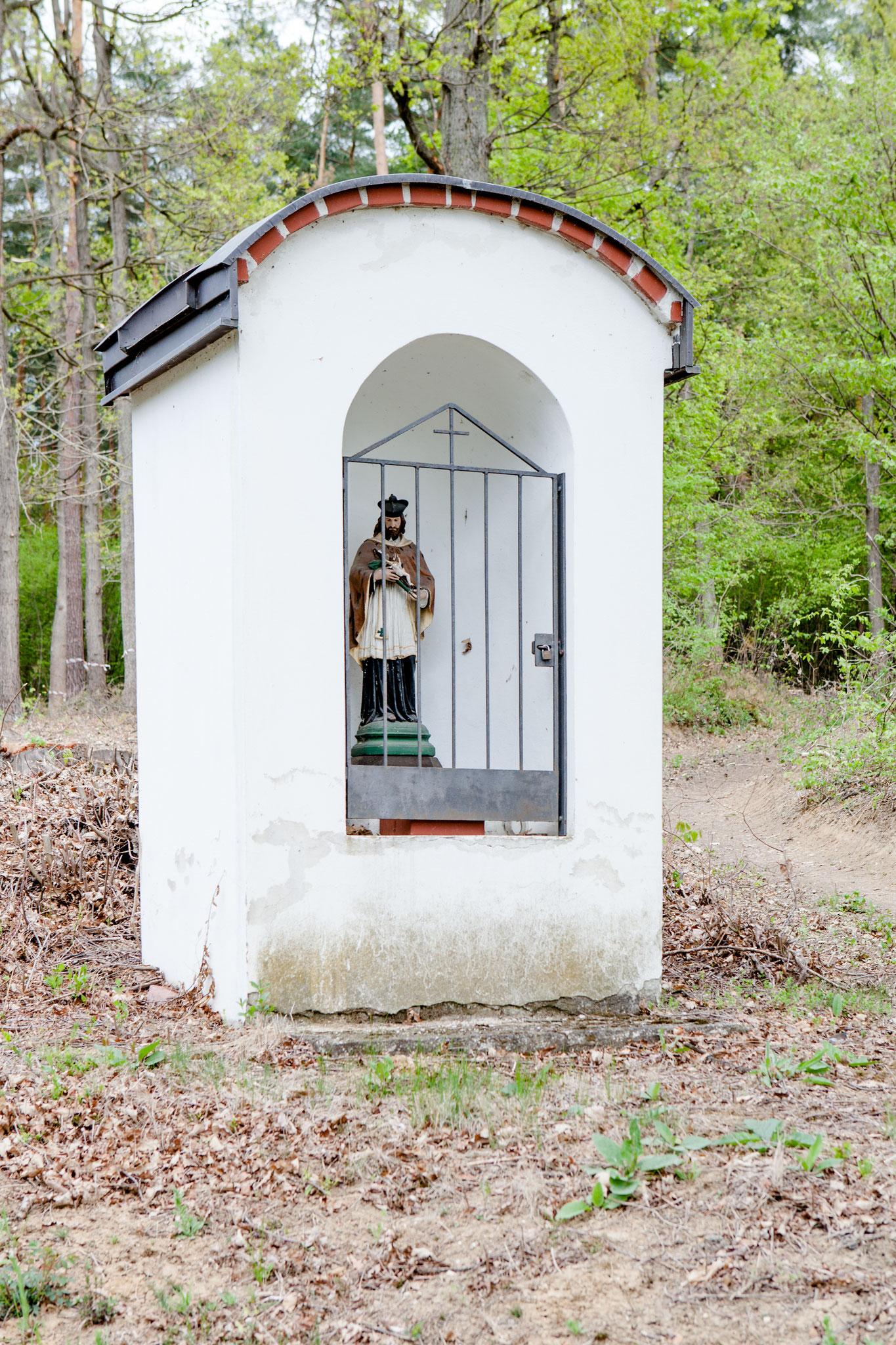 Kapelle Richtung Dörfl: betreut von Familie Szegner, Mühlgasse