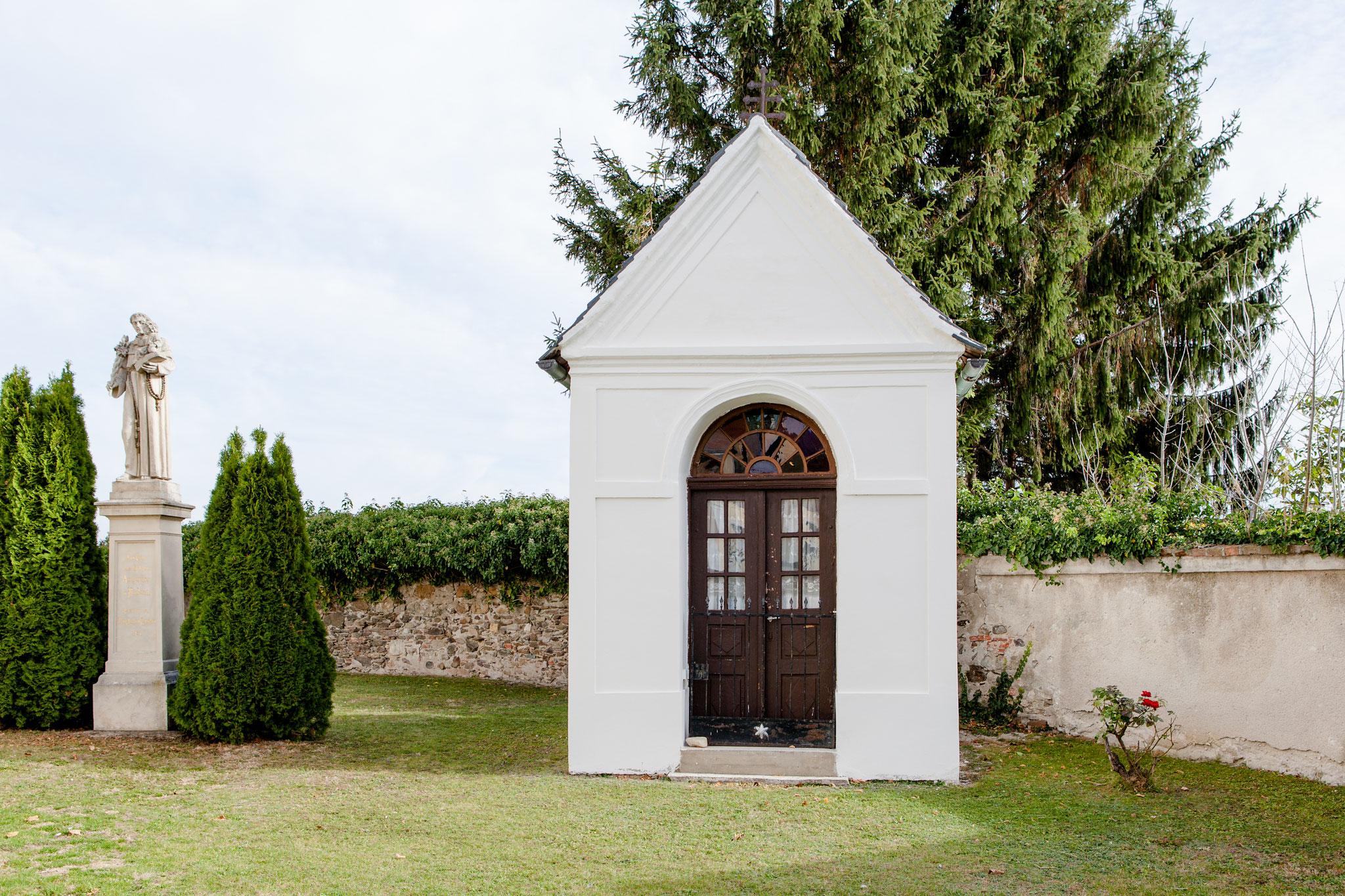 Kapelle im Kirchhof: Betreut von Familie Janoch, Badgasse 19
