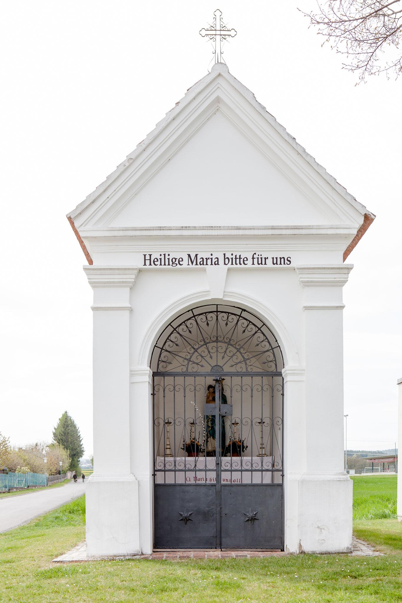 Maria Hilf-Kapelle: betreut von Familie Wiedenhofer, Badgasse 11