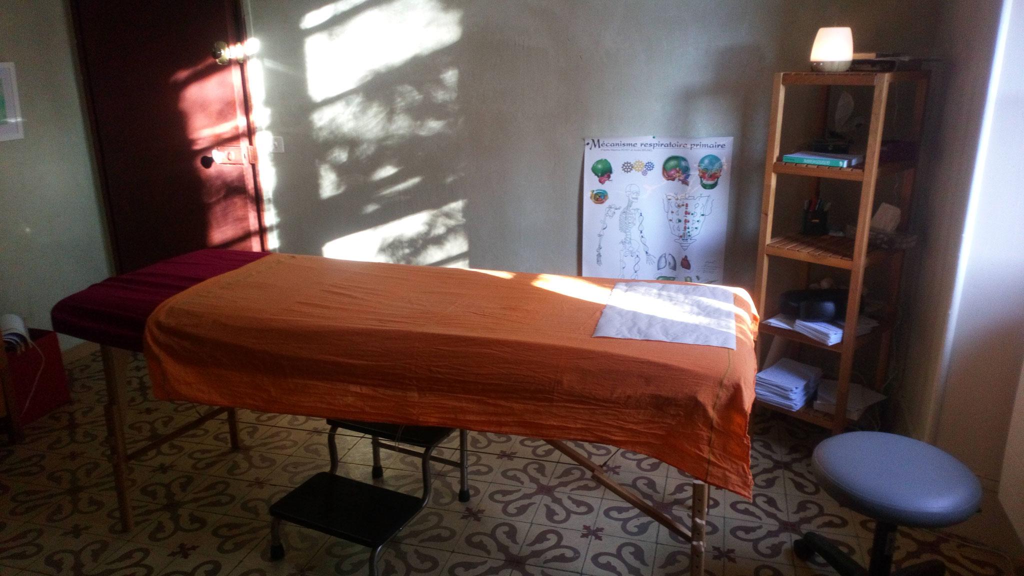 Intérieur salle de soin