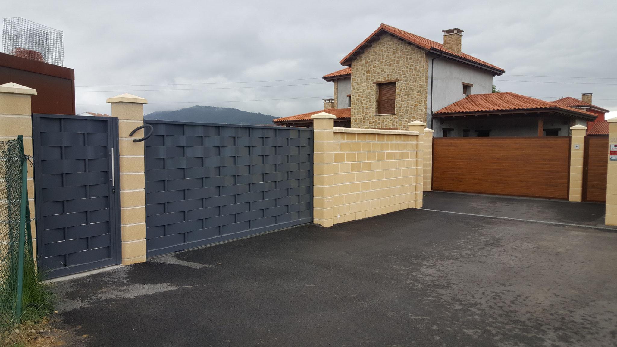 Puertas de garaje portones y automatismos alemar - Automatismos puertas de garaje ...