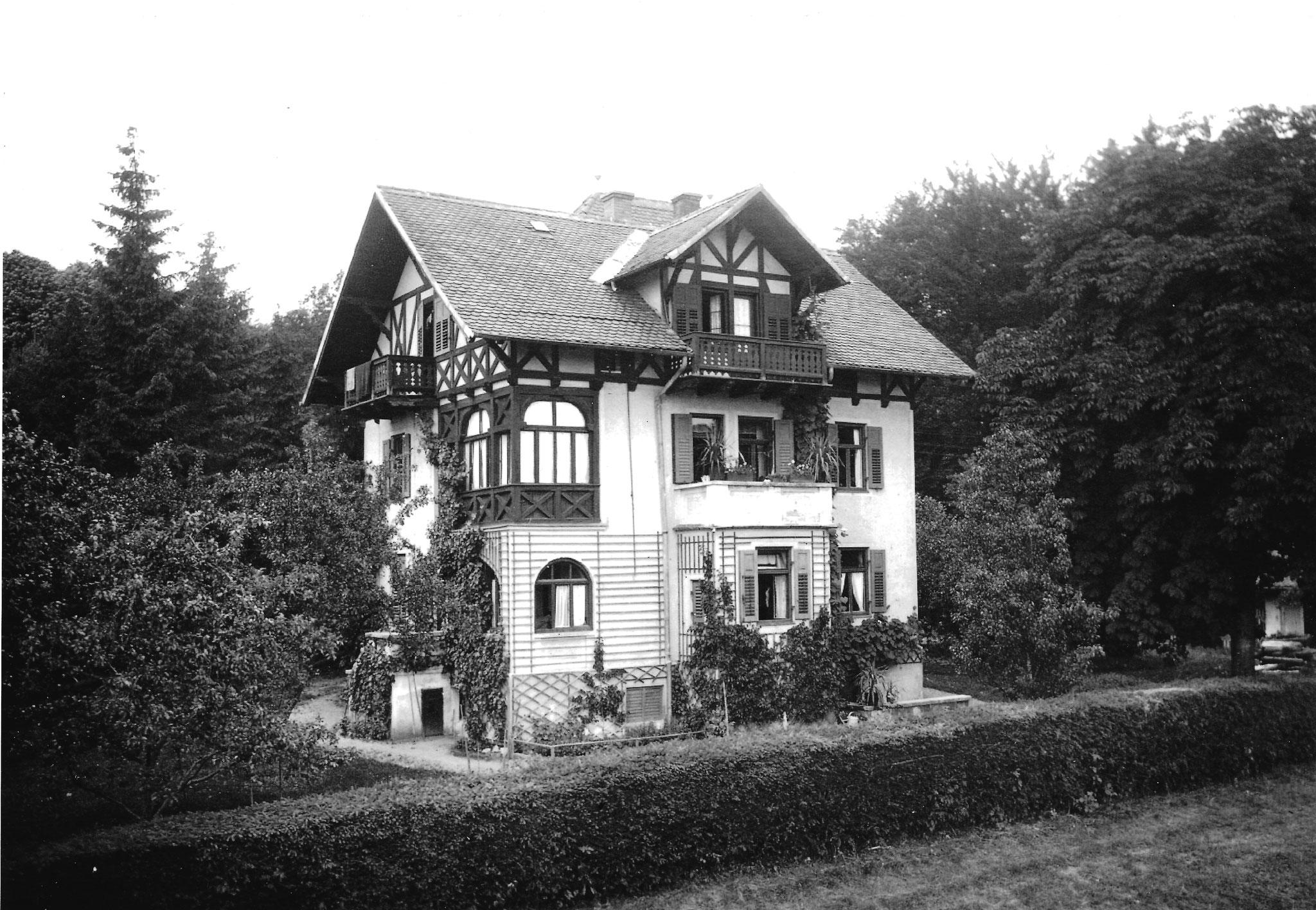 Villa Rödl in Tutzing, Foto um 1920