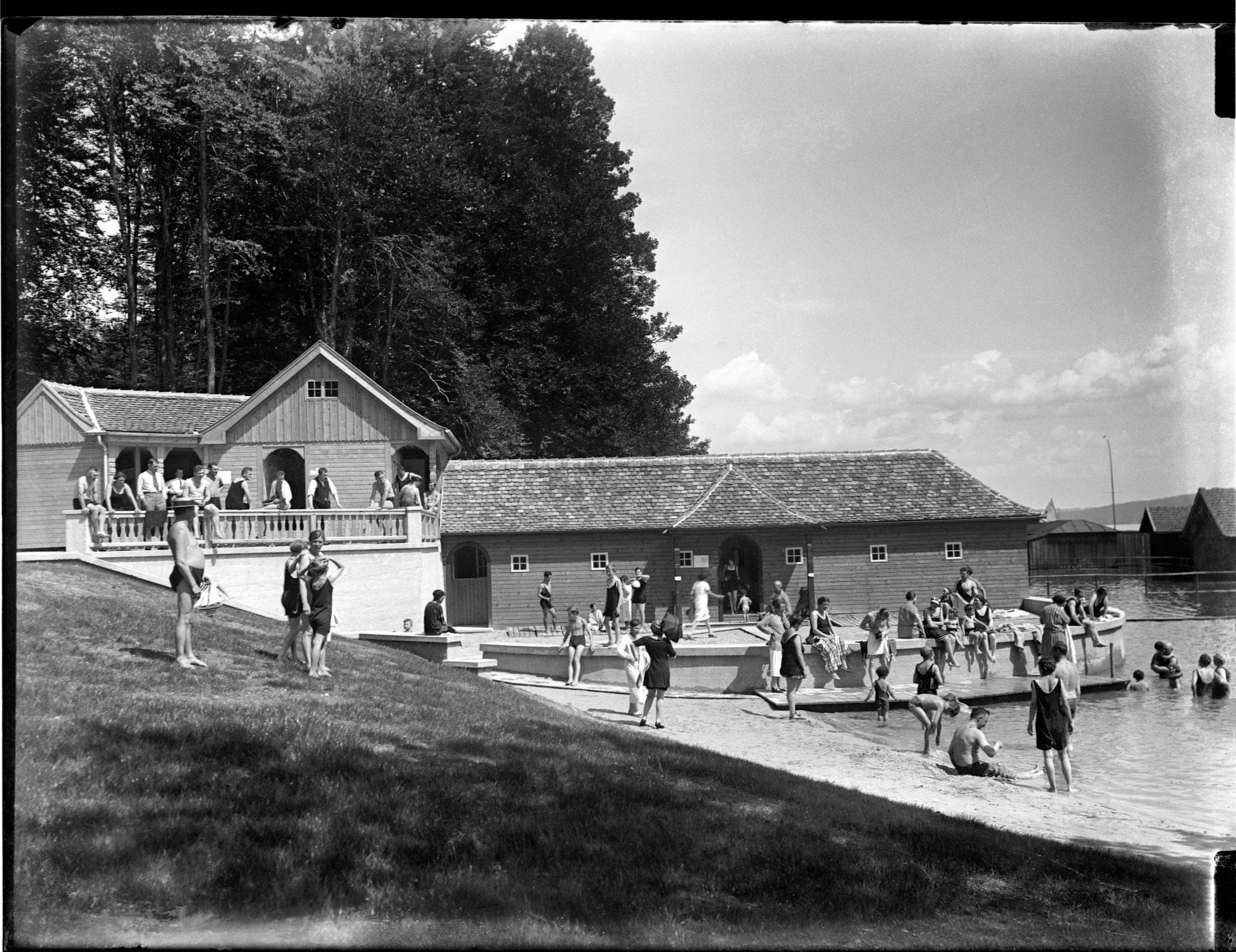 Badeanstalt Feldafing, Foto 1927