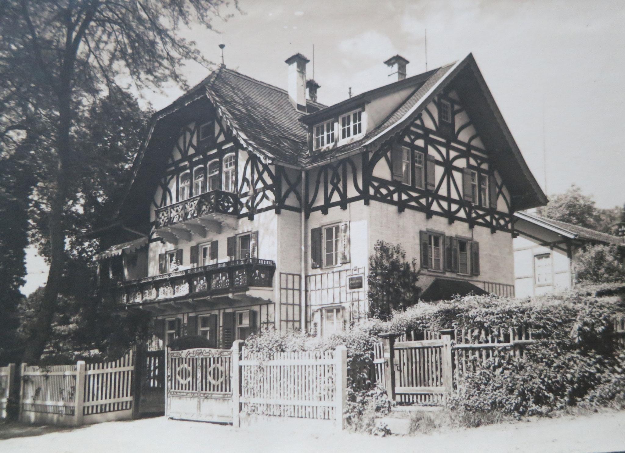Villa Knittl in Tutzing, Foto 1926
