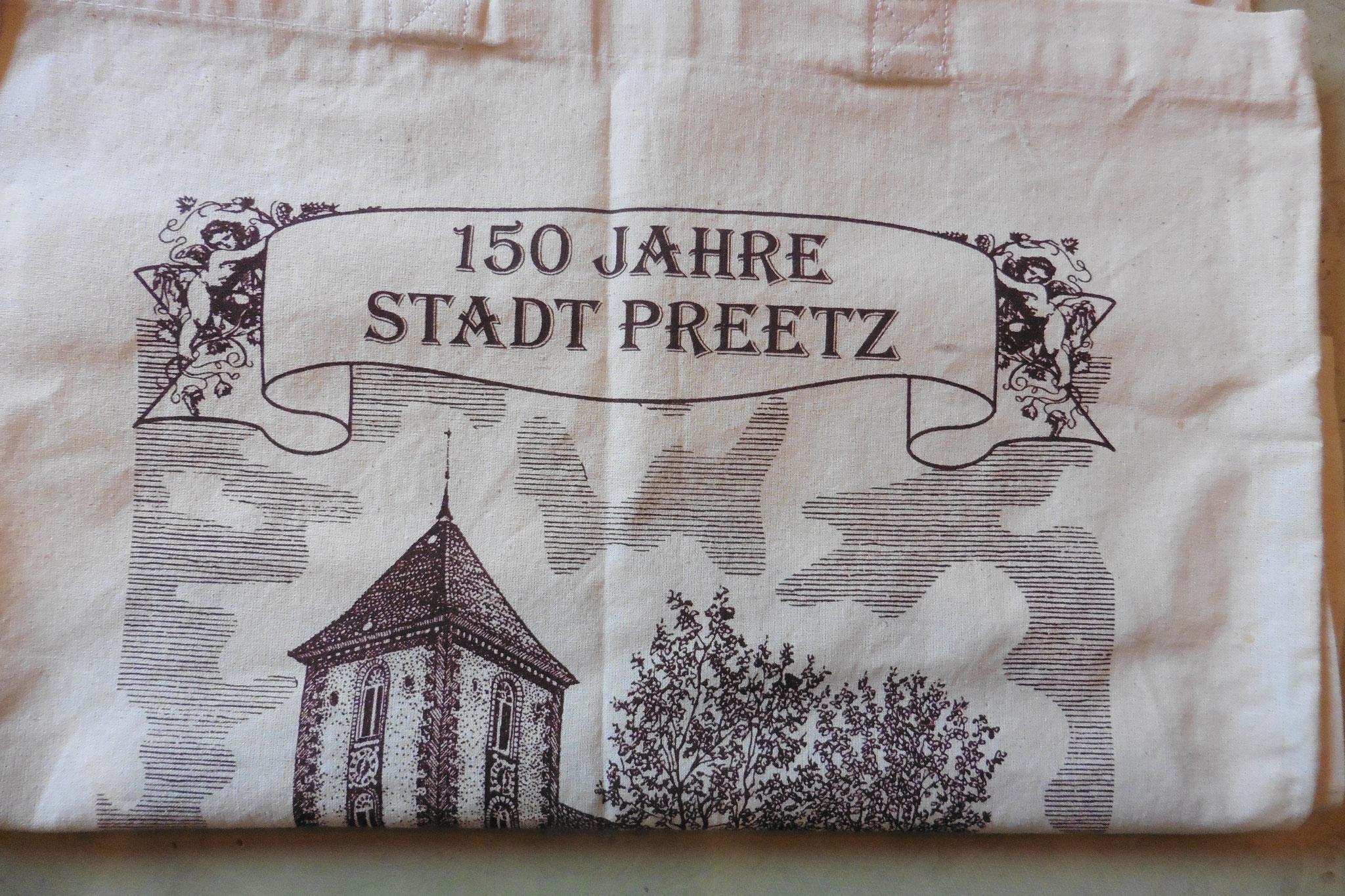 Tragetasche zum 150jährigen Stadtjubiläum
