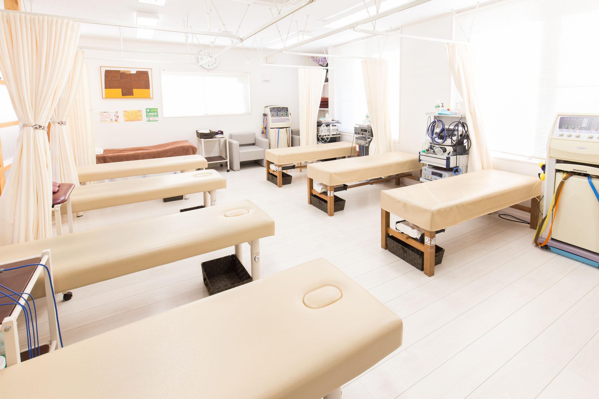 北方接骨院・鍼灸院(施術室)