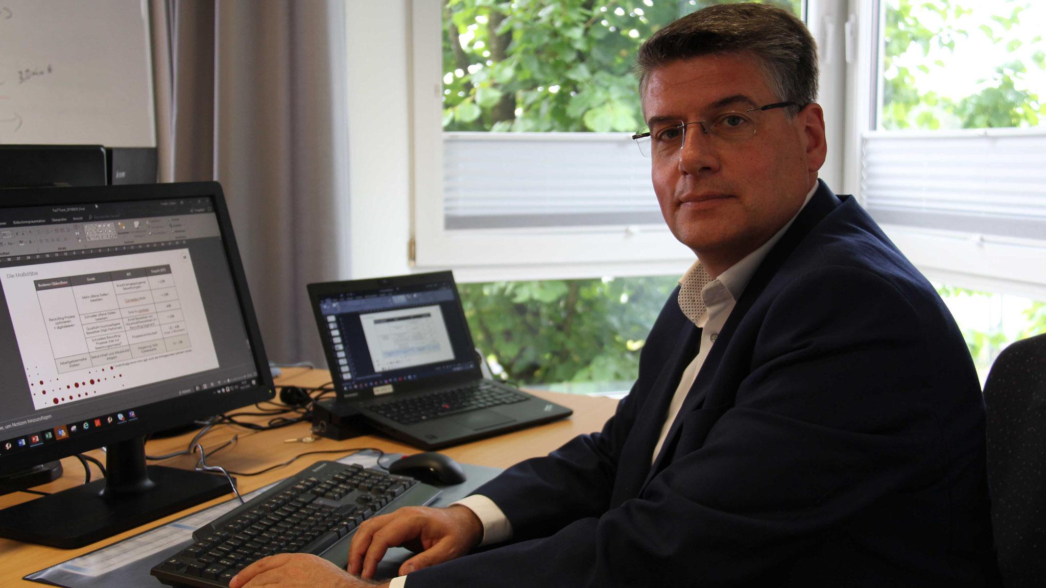"""""""Der Erfolg von FastTrack übertrifft unsere Erwartungen"""", erklärt Frédéric Dildei, Projekt- und Vertriebsmanager von STF ITech."""