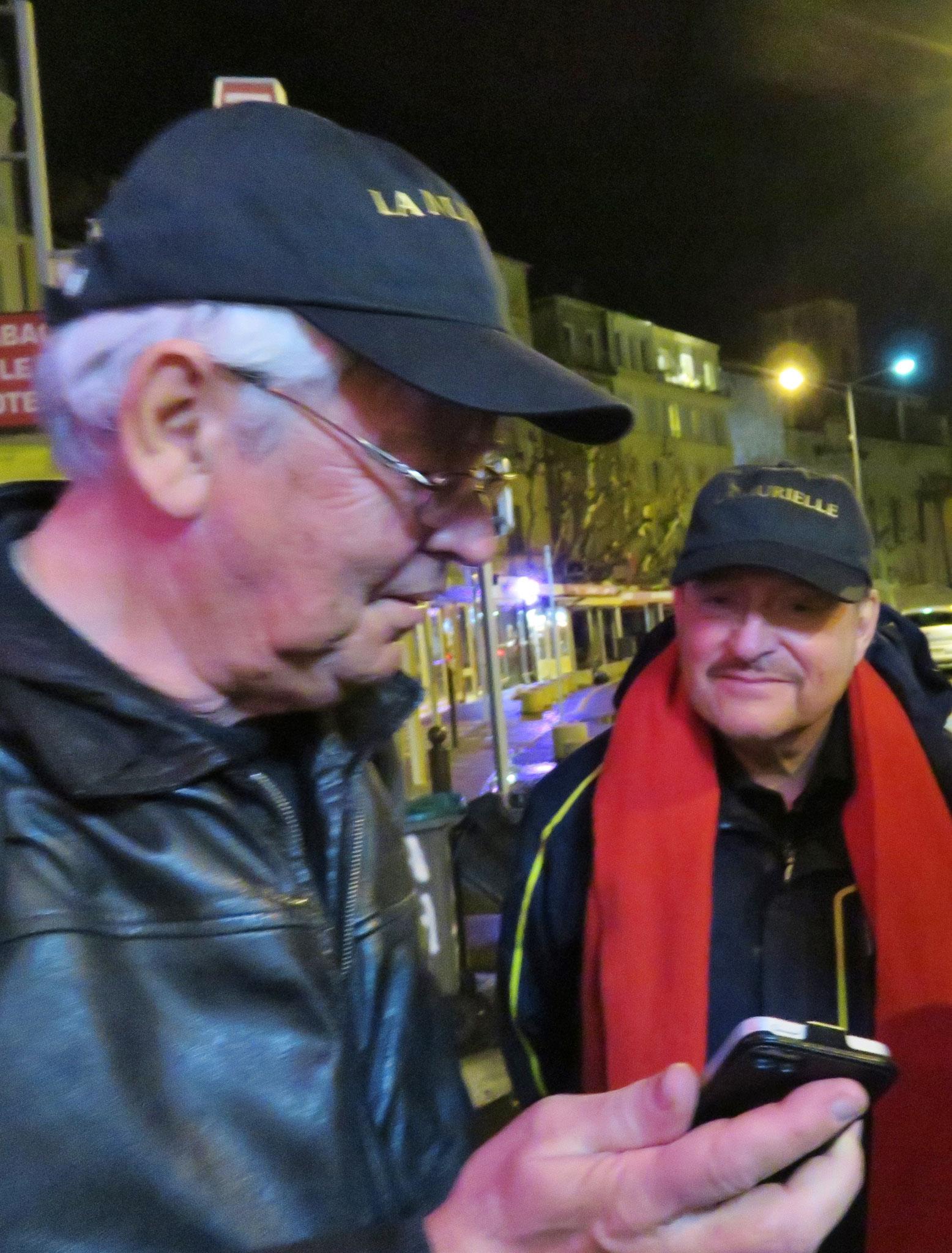 Pierre Koest et jean Marie Quiesse La Ciotat mars 2017