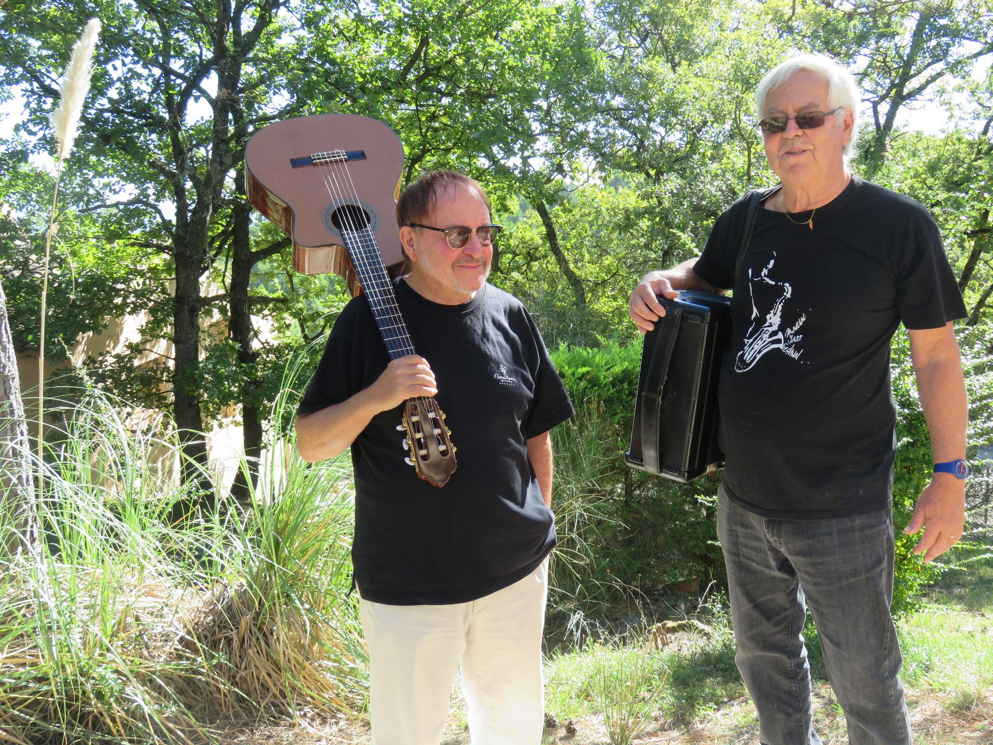 Jean-Marie Quiesse et Pierre Koest- 2018 - Photo D. Ferré