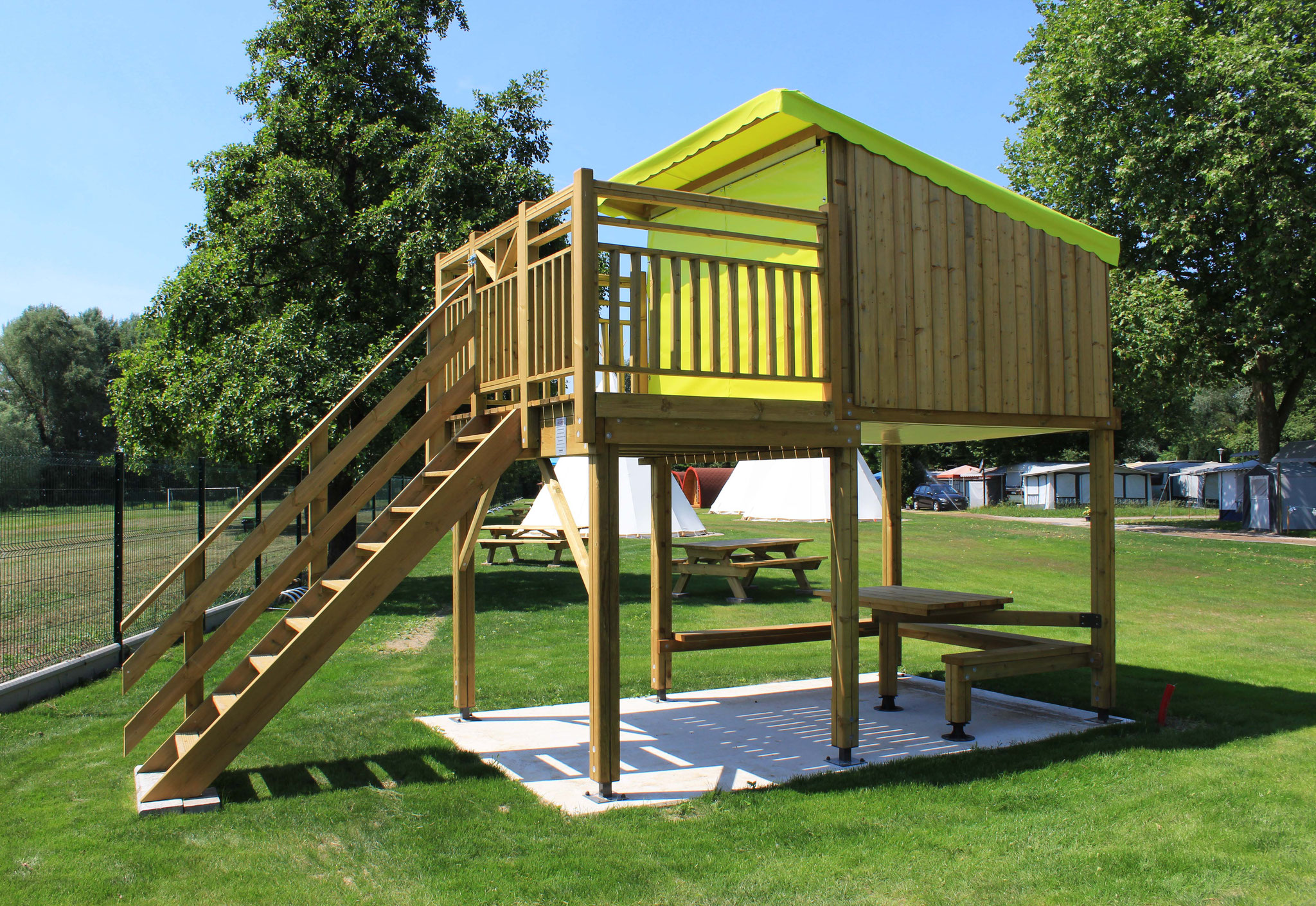 CAMP'ETOILE cabane en bois