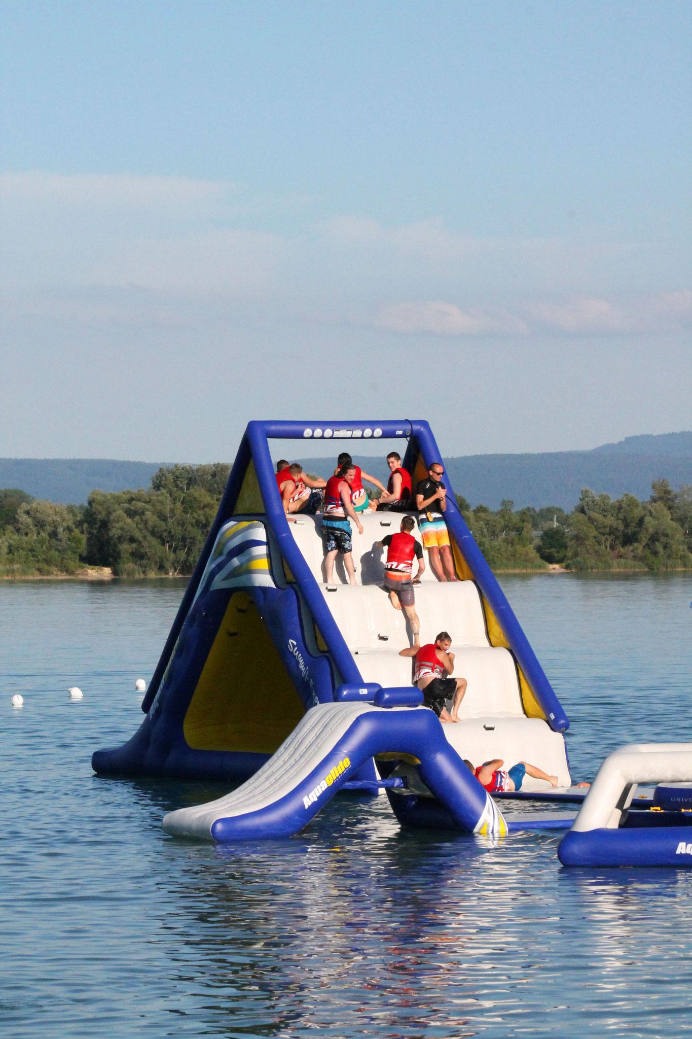 Toboggan sur l'eau Alsace