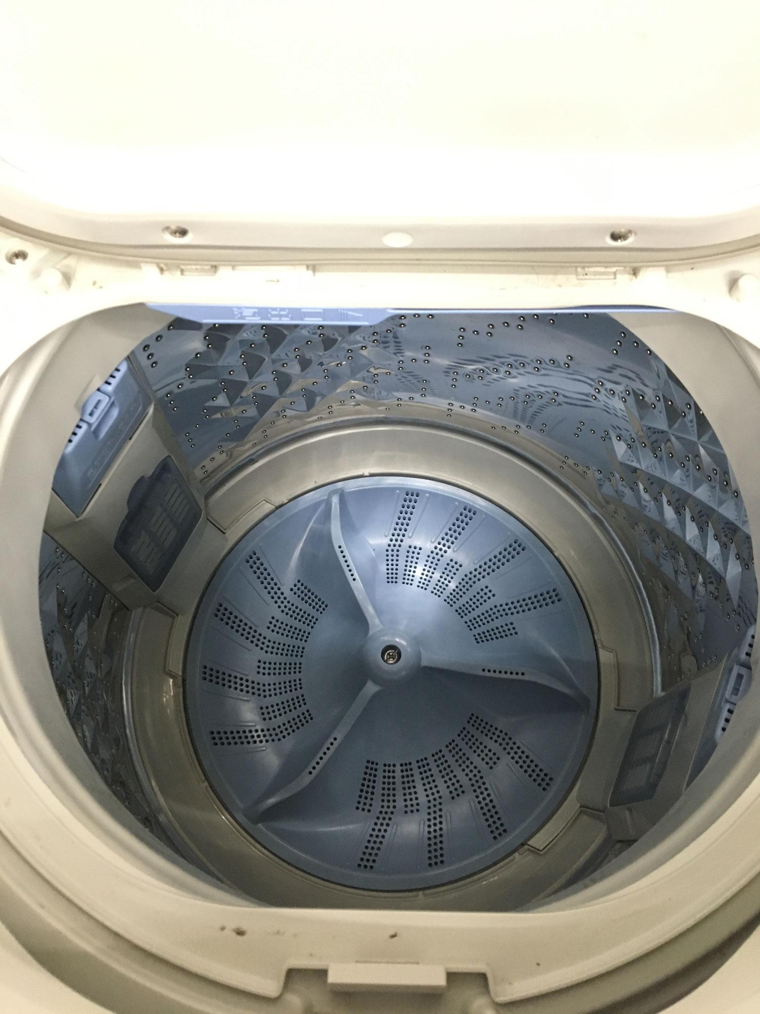 大容量の洗濯槽