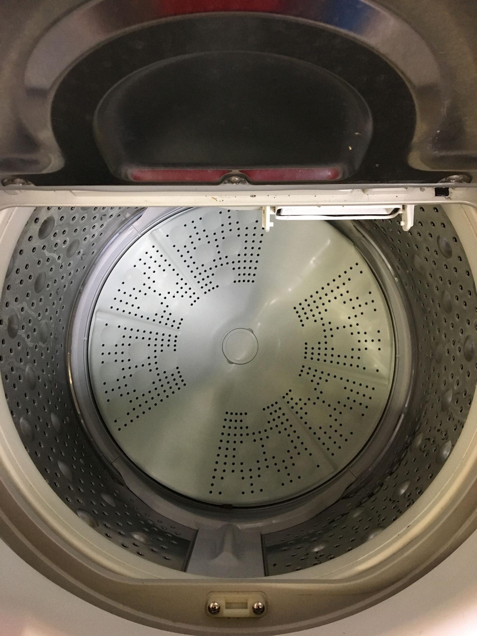 洗濯槽も綺麗でした♪