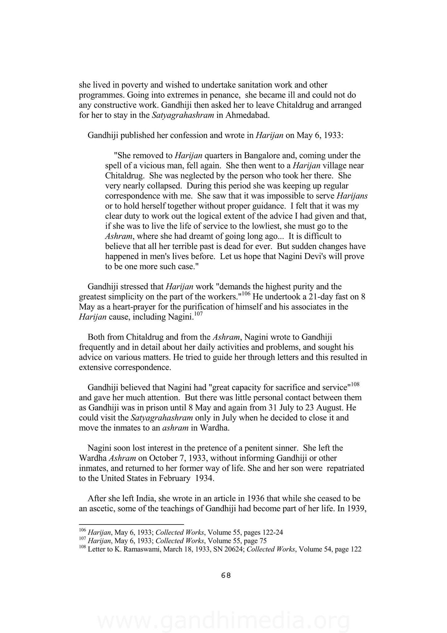 Letters to Americans - GandhiServe Foundation