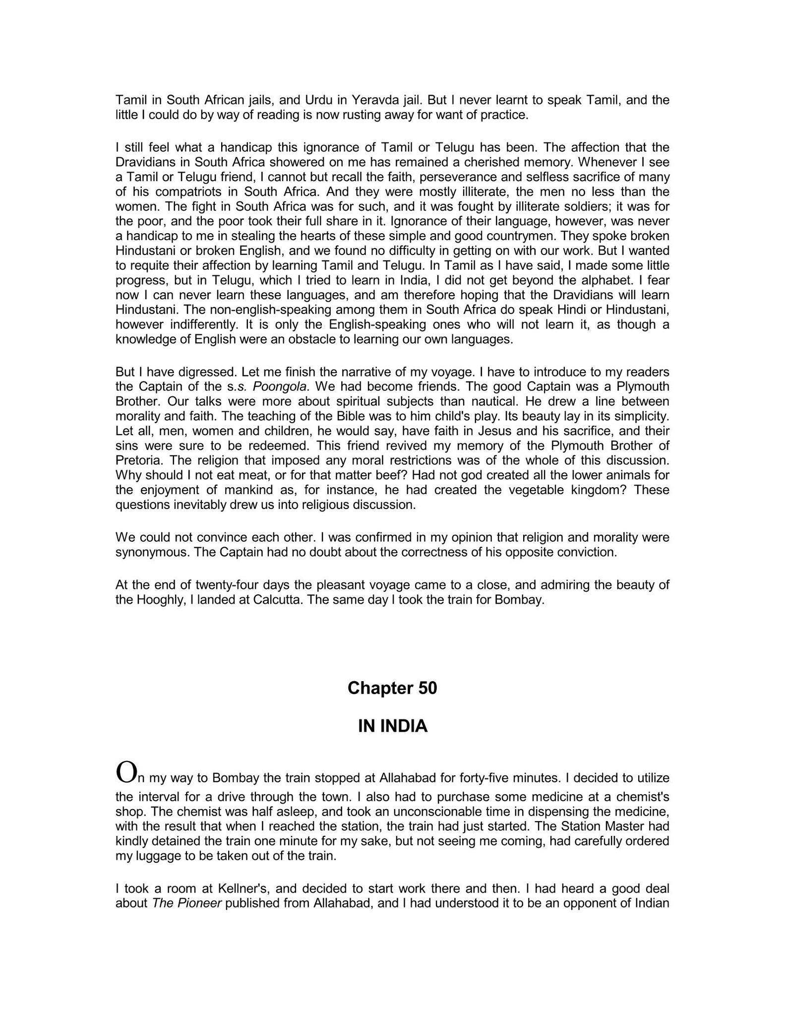 An Autobiography - GandhiServe Foundation
