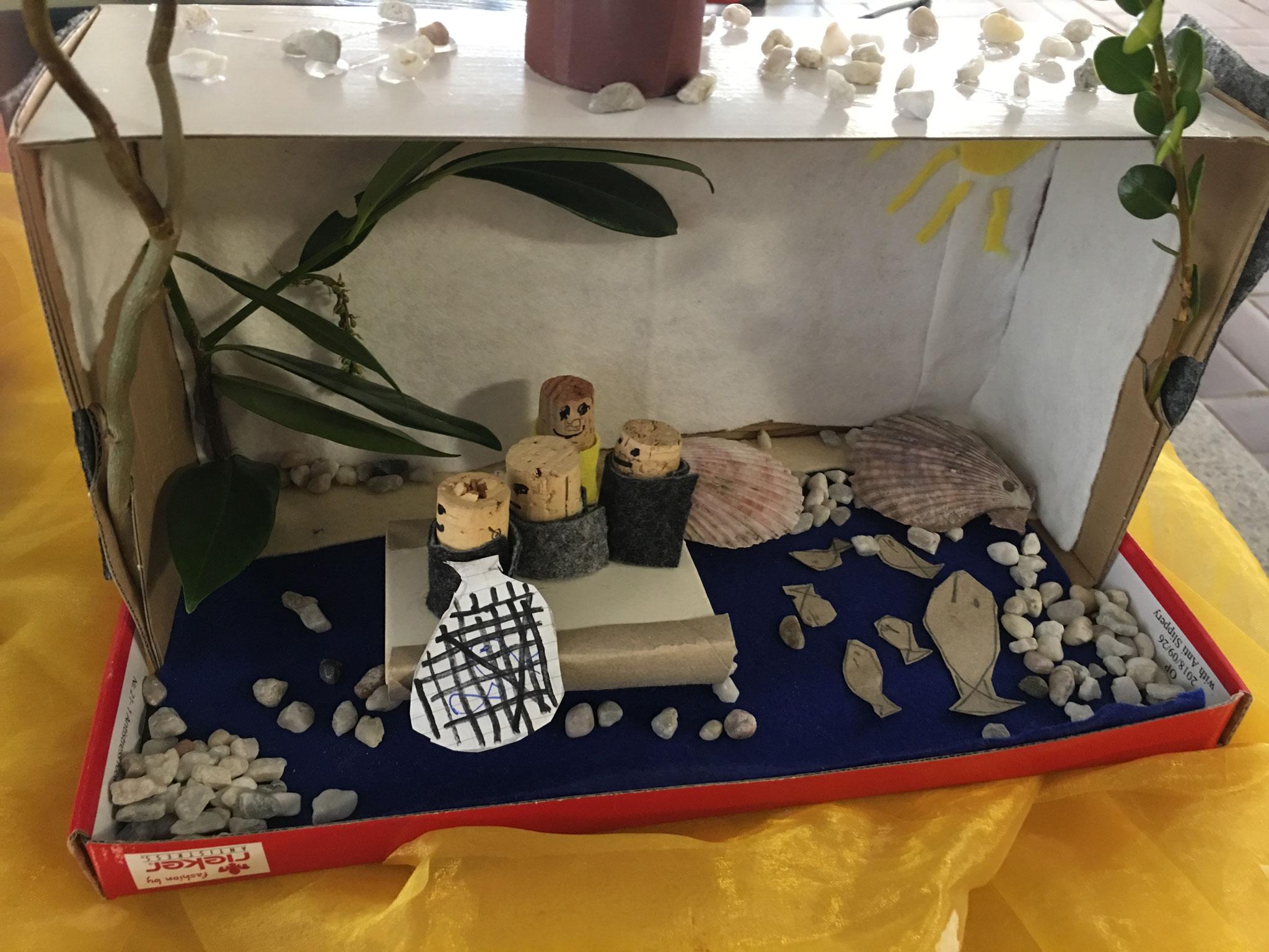 Jesus erscheint seinen Jüngern am See