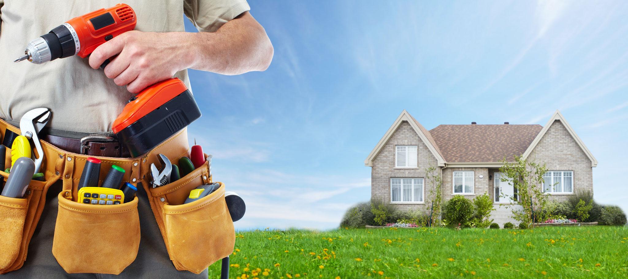 Reparaturen rund um´s Haus