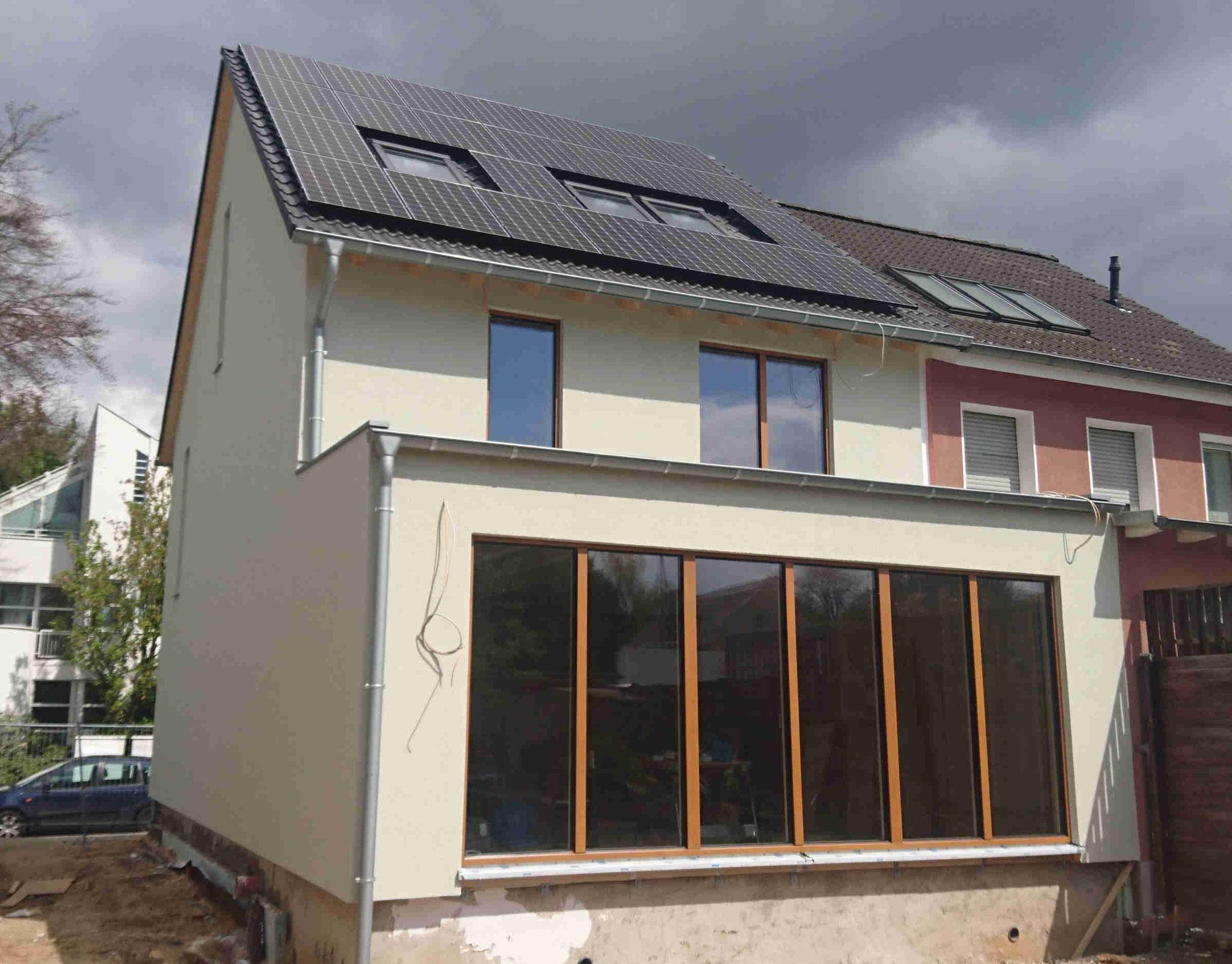Das Ausbauhaus ist von außen fertig: Nun kann der Bauherr mit dem Innenausbau beginnen.