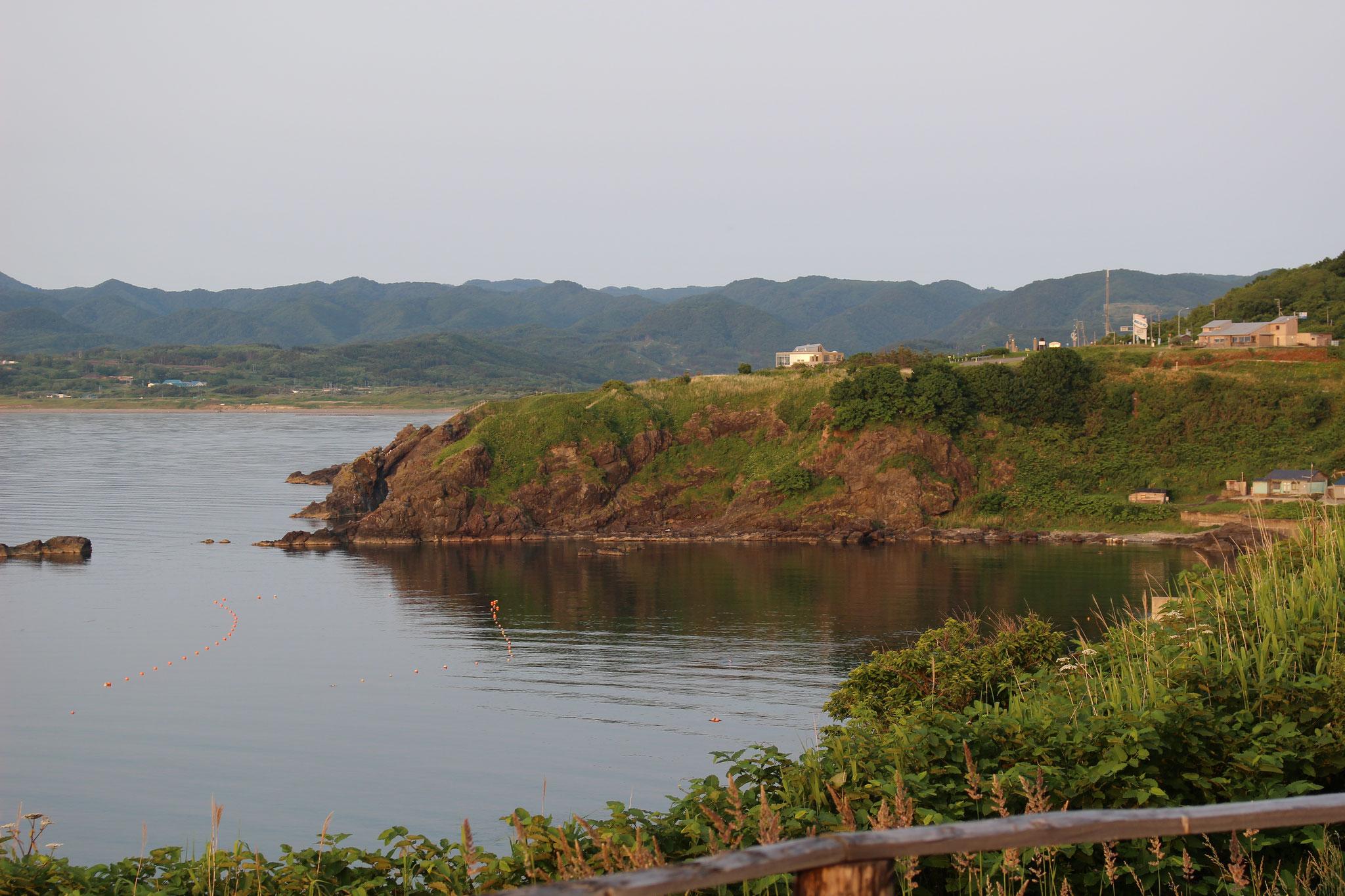 【夏】周辺の景色