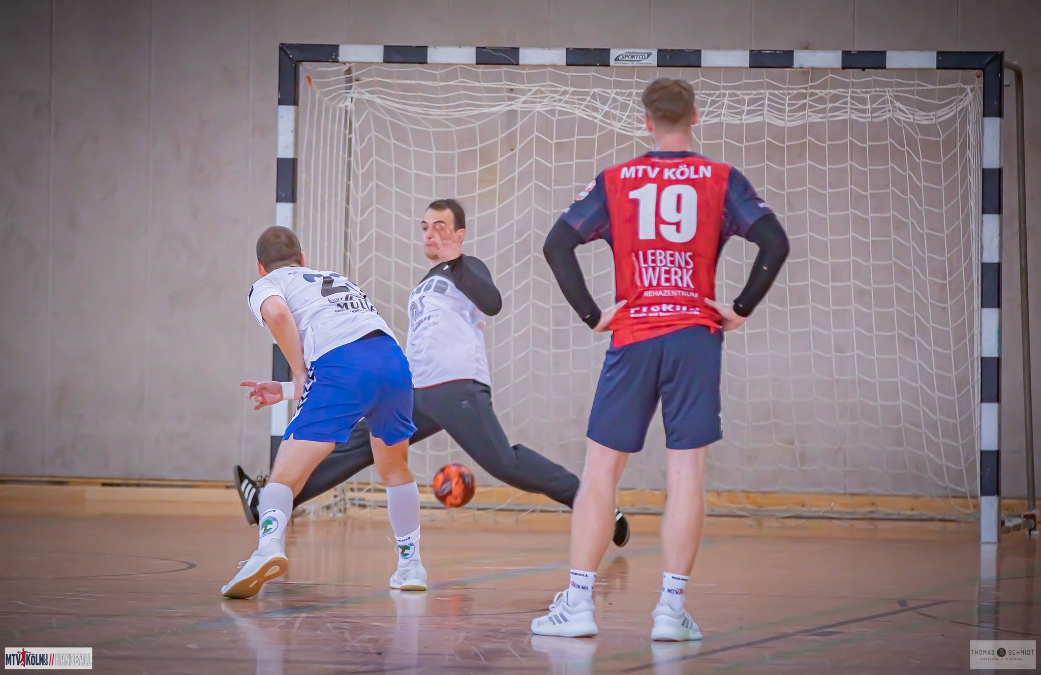 Mit 12 Toren war Nico Pick bester Schütze der Königsdorfer - zwei Treffer erzielte er per 7 Meter, Foto: Thomas Schmidt