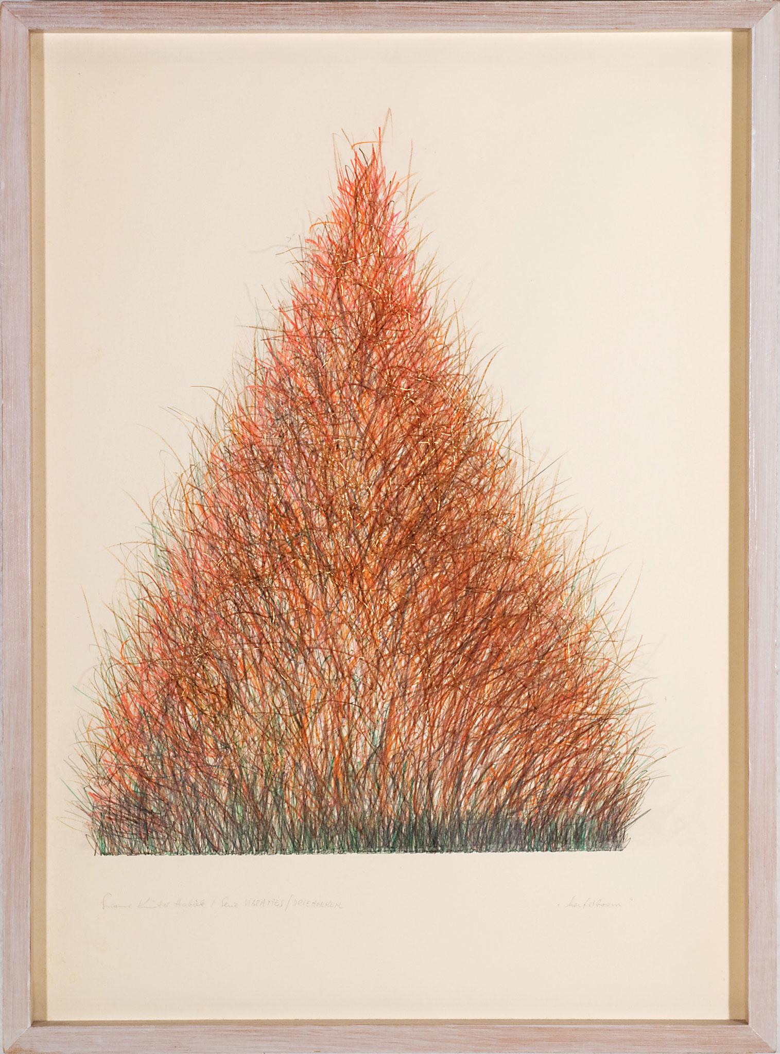 herfstboom   (72x52cm)