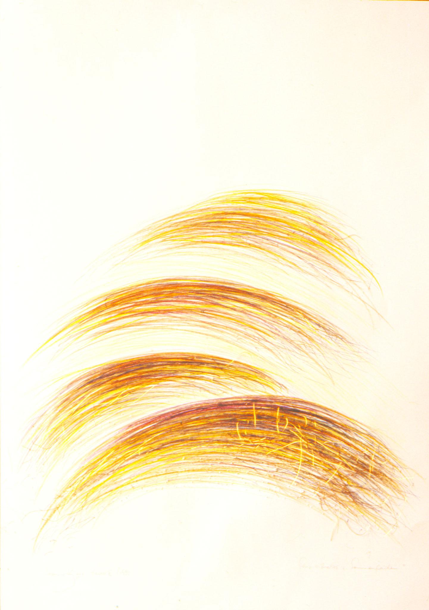 Sonnenfäden   (72x52cm)