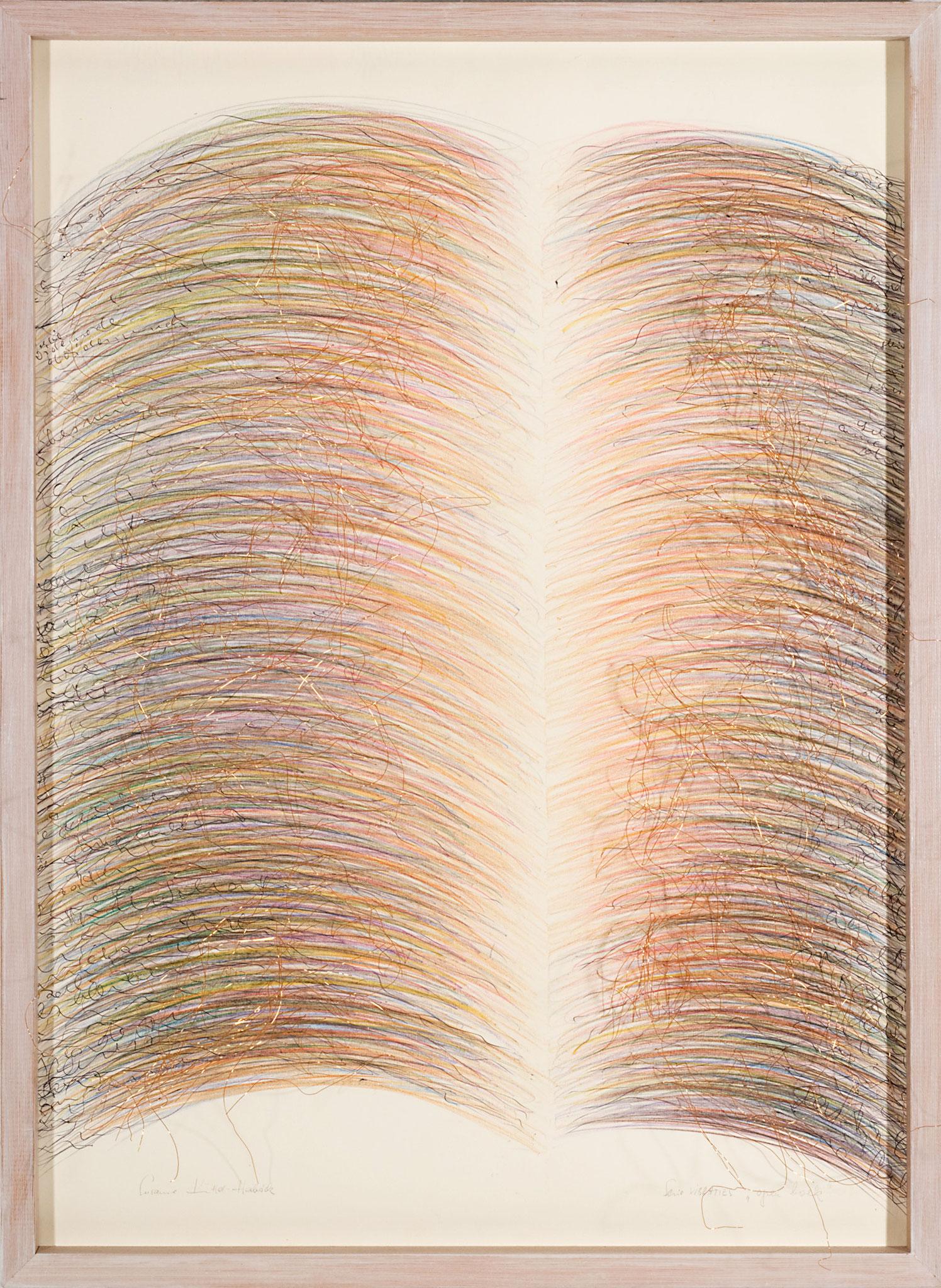 ein offenes Buch   (72x52cm)
