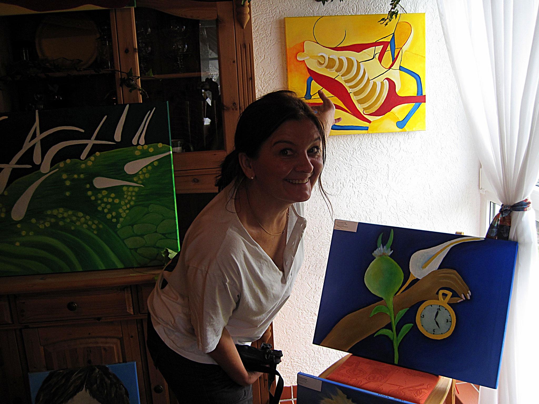 Künstlerin Ursula Diehl aus Worms