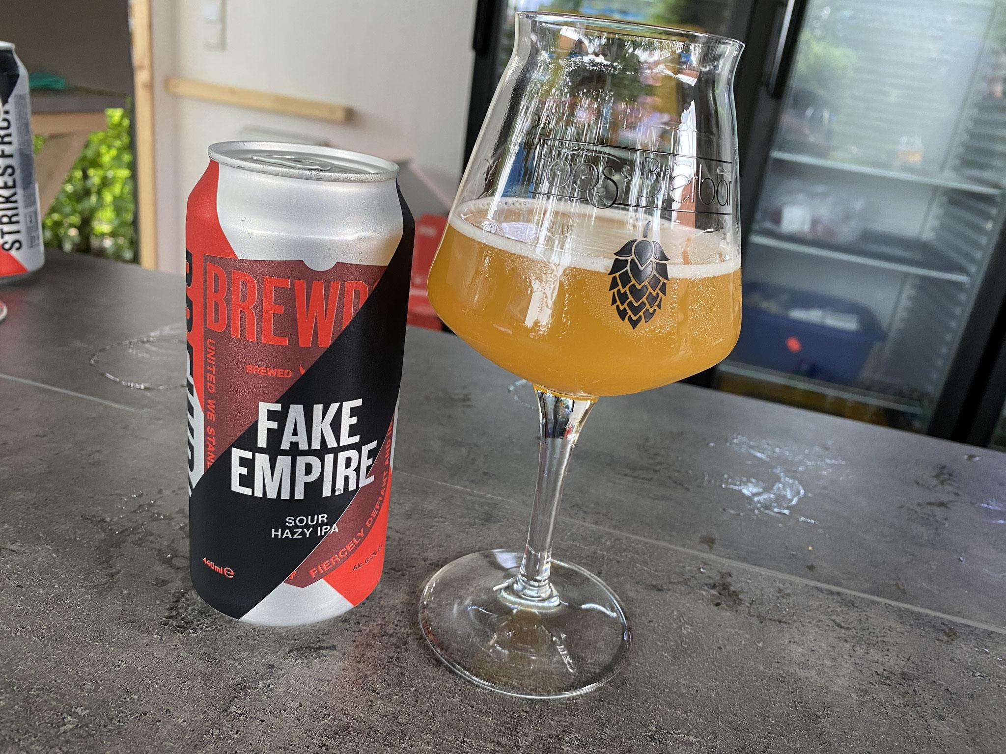 Brew Dog Fake Empire