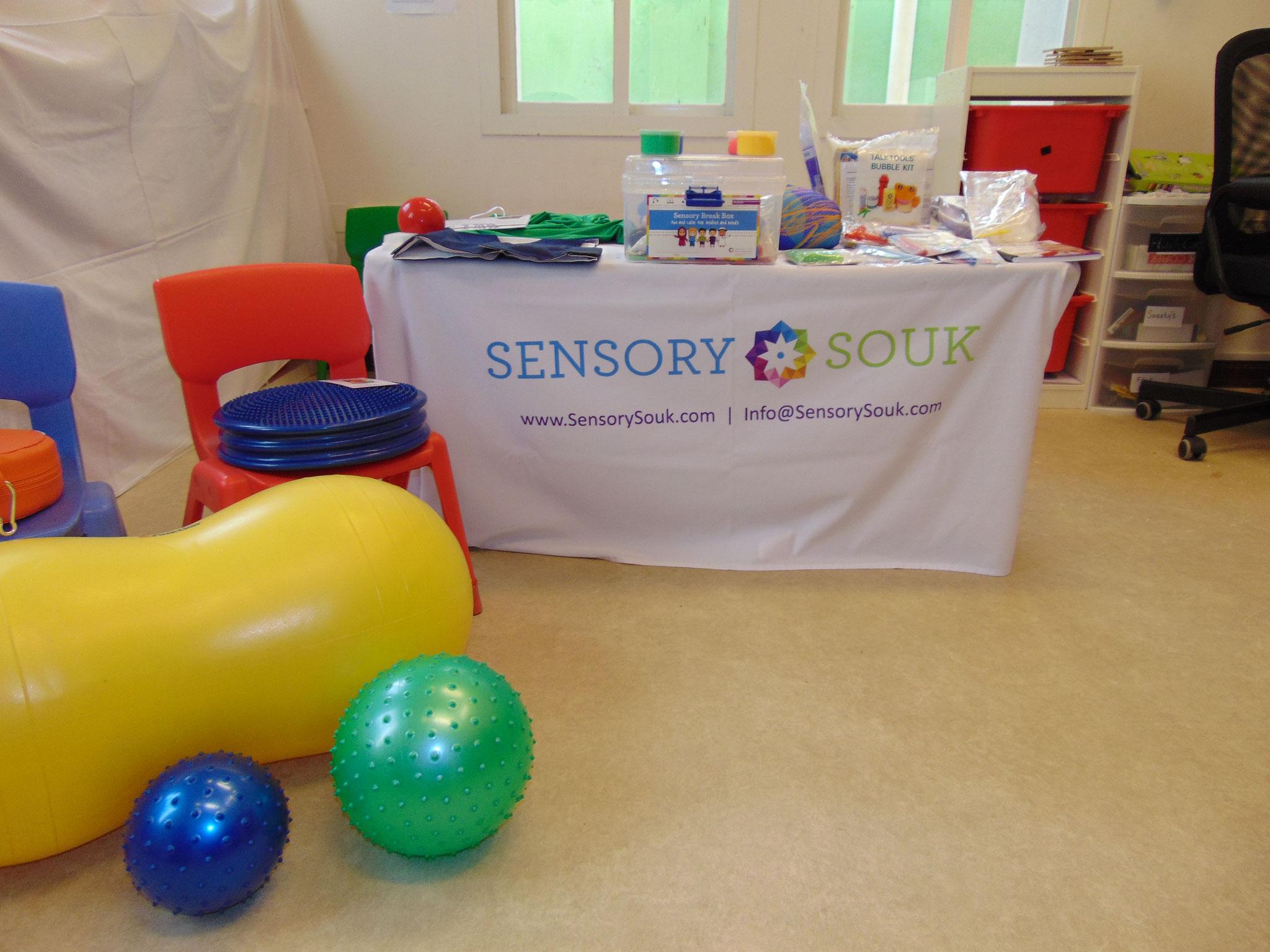 "Sensory Souk presented a ""Sensory Clinic"""