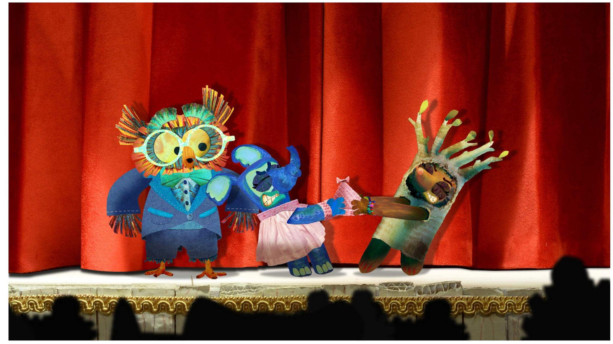 Le spectacle de maternelle / Loïc Bruyère / France/ 2019/ Animation/ 08'00