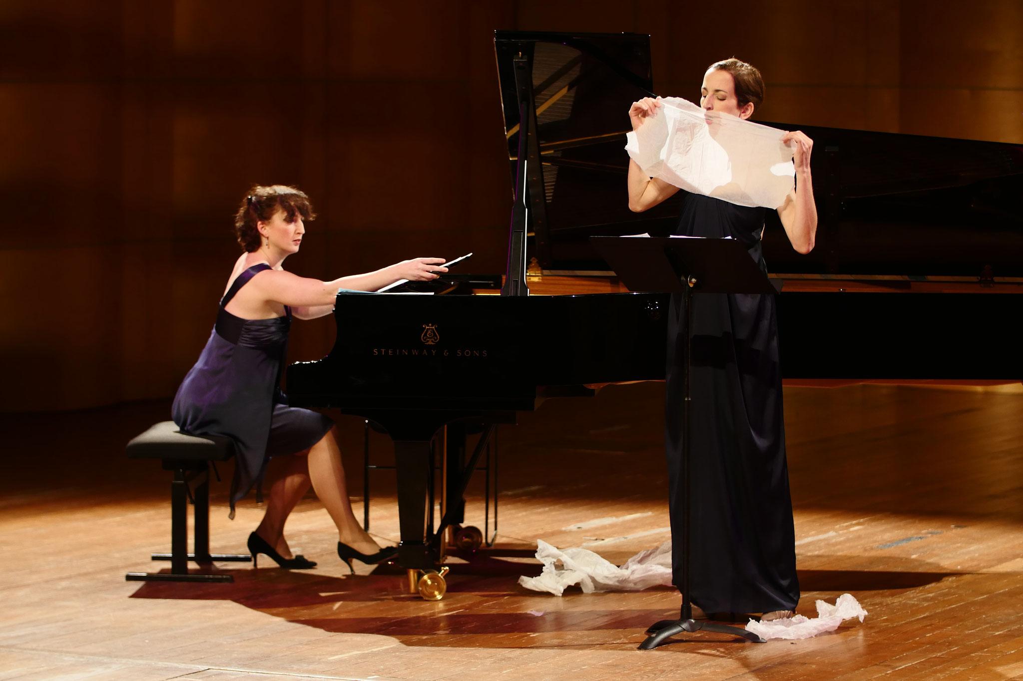 Avec Marie-Elise Boyer - Mélodie pour soprano, piano et papier de soie de Jonathan Zwaenepoel