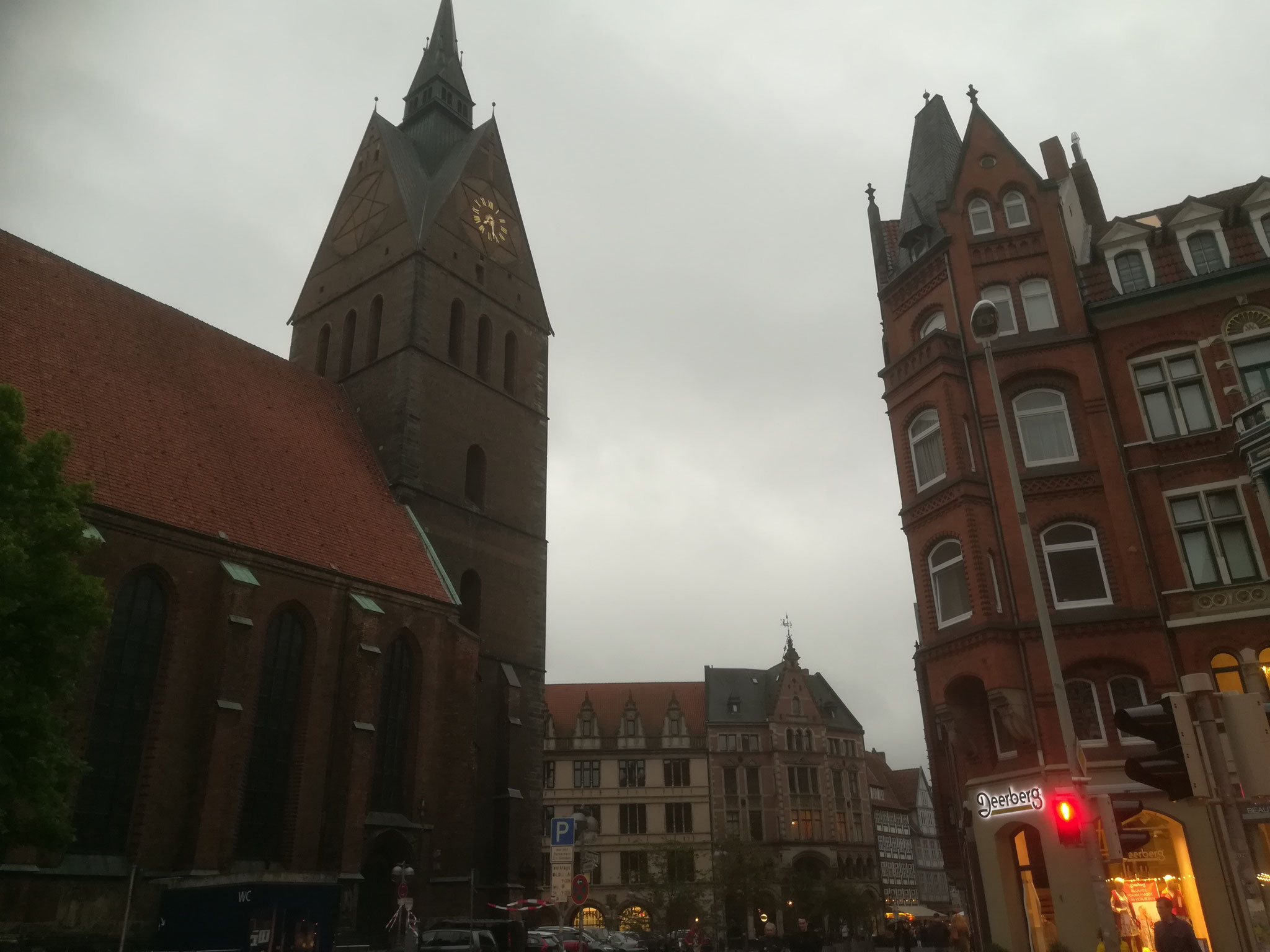 19. Mai 2017, Altstadt von Hannover