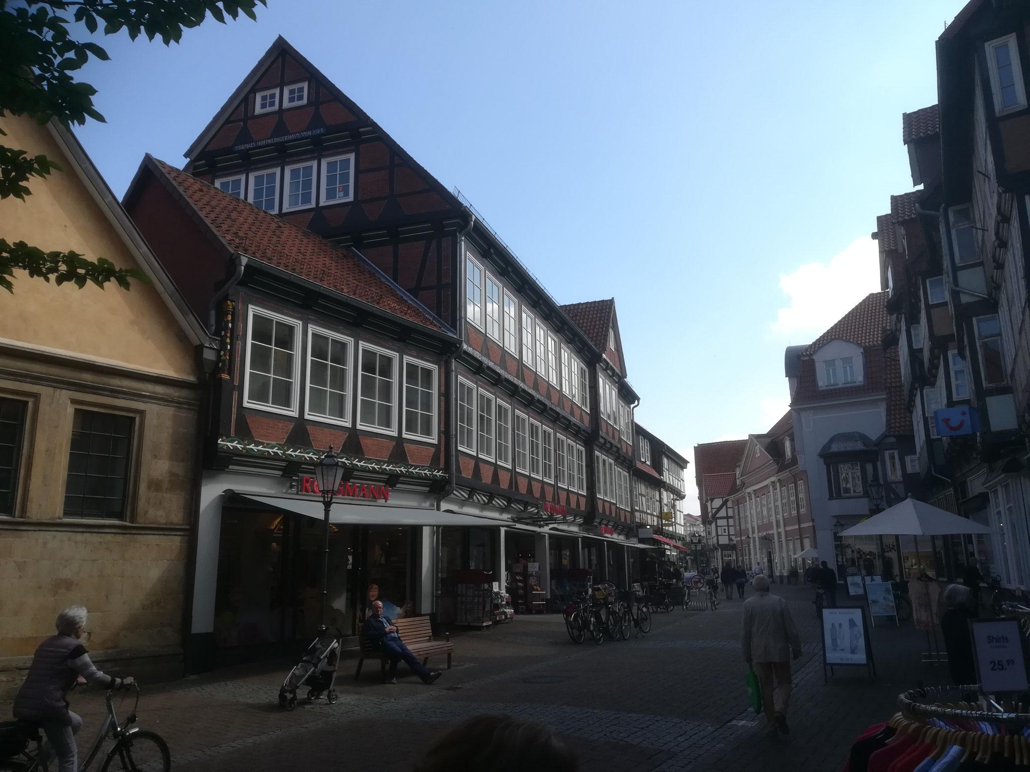 20. Mai 2017, Westcellertorstraße in Celle