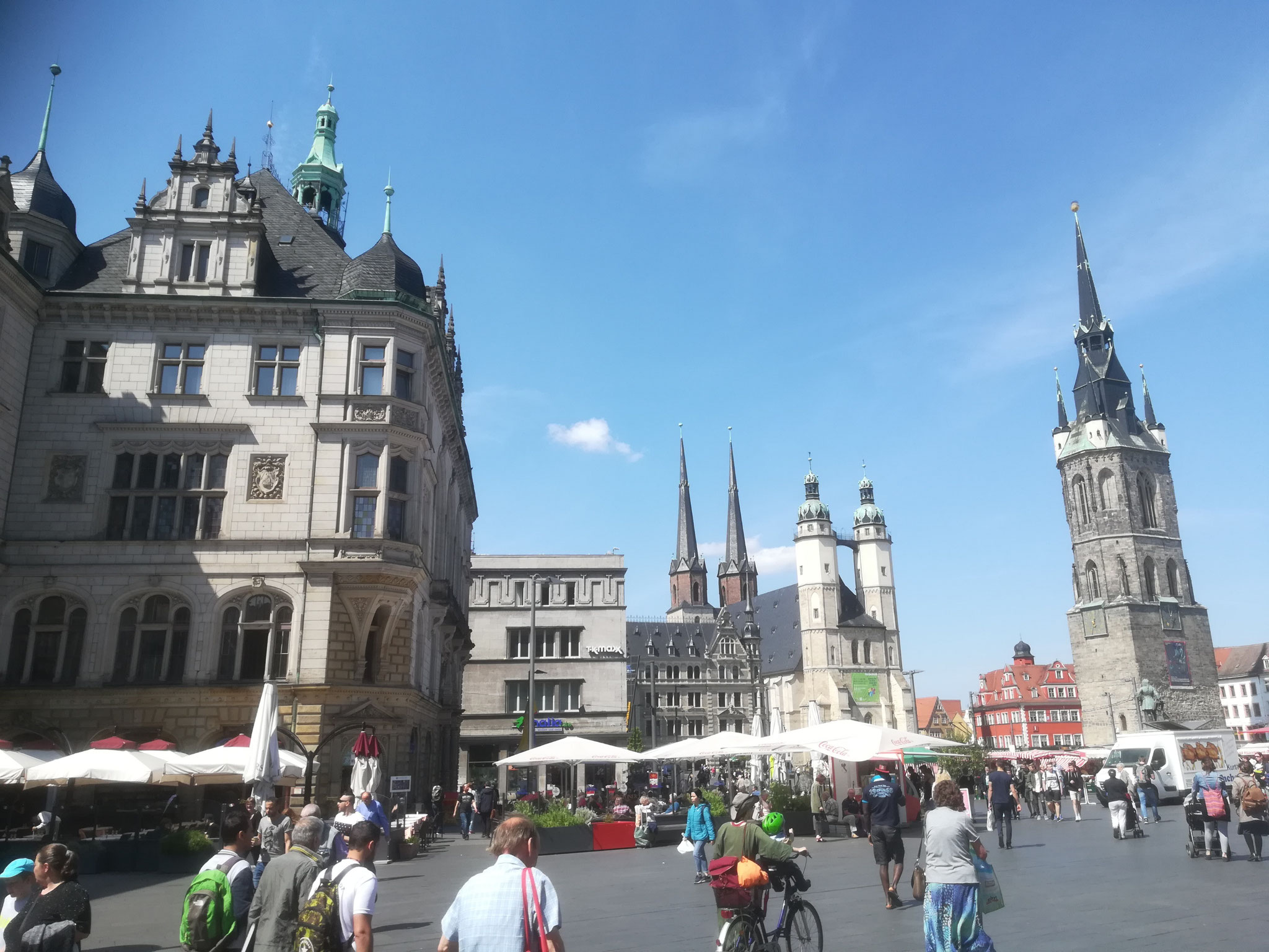 22. Mai 2017, Marktplatz in Halle (Saale)