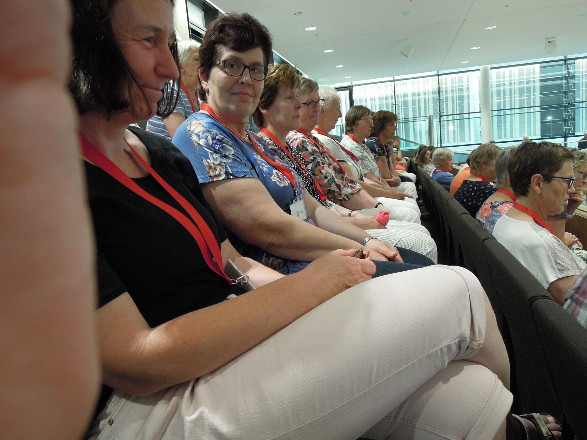 Bei der Plenarsitzung im Landtag
