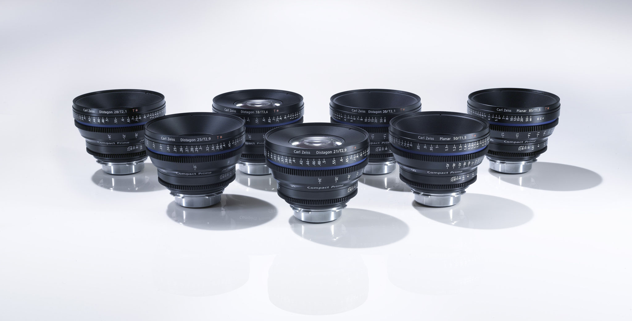 Zeiss CP2 Set Superspeed 15 | 25 | 35 | 50 | 85 |100mm PL & EF Mount