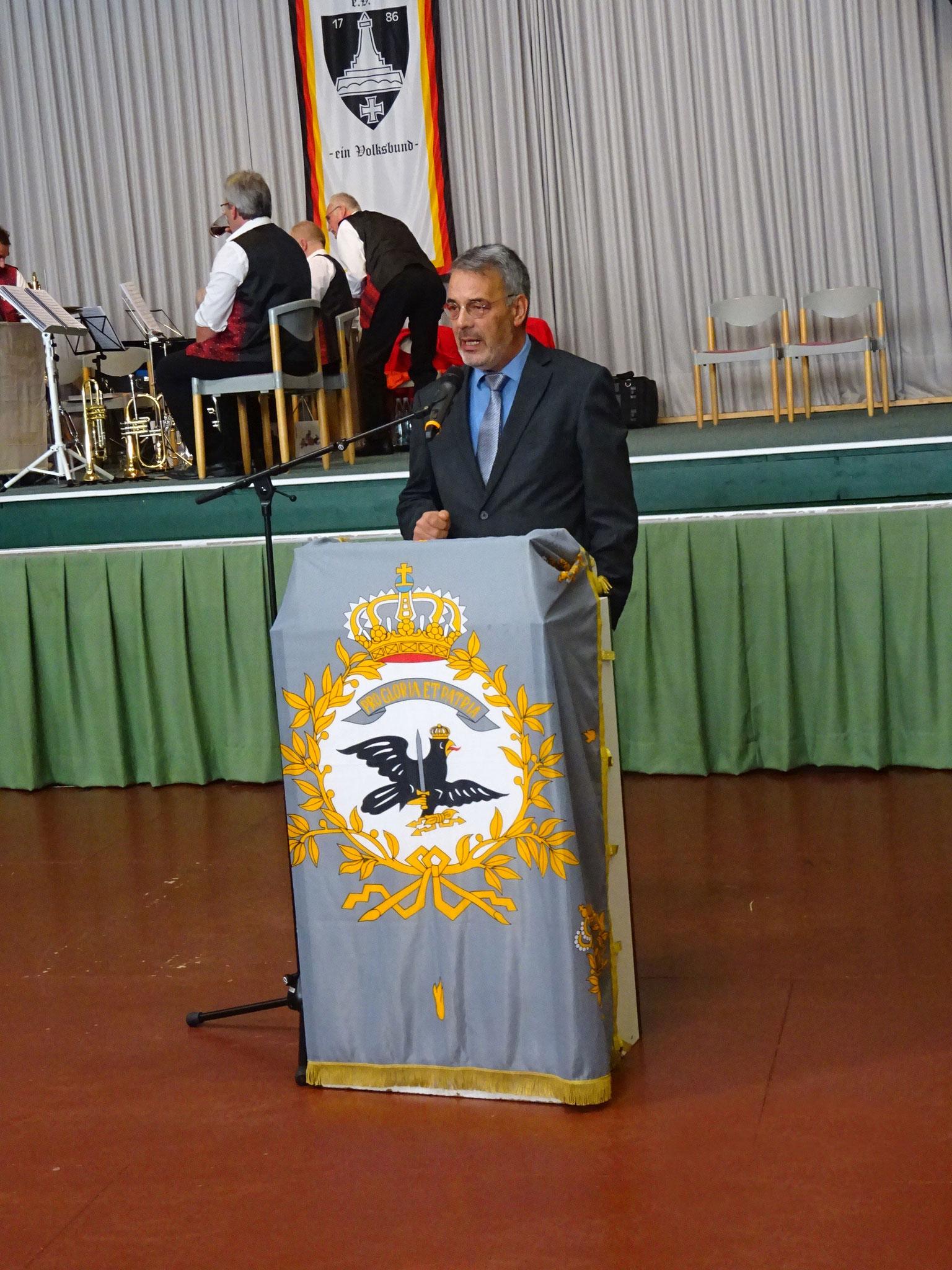 Grußwort vom MdL Niedersachsen Gerd Hujahn.