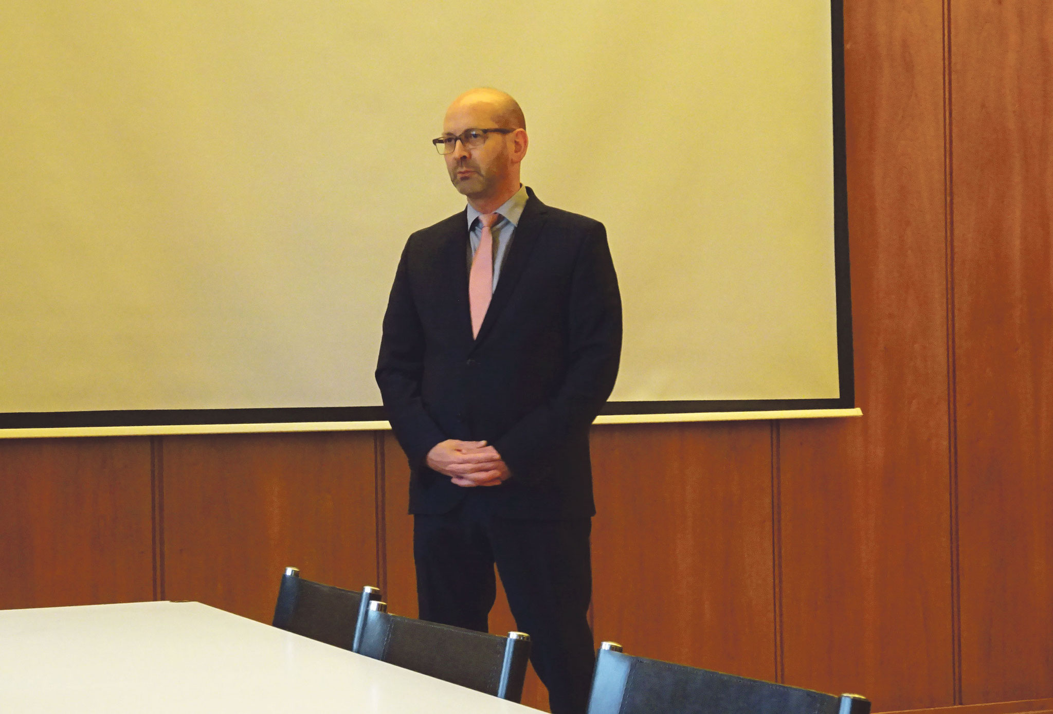 Bürgermeister Hann.-Münden Harald Wegener.