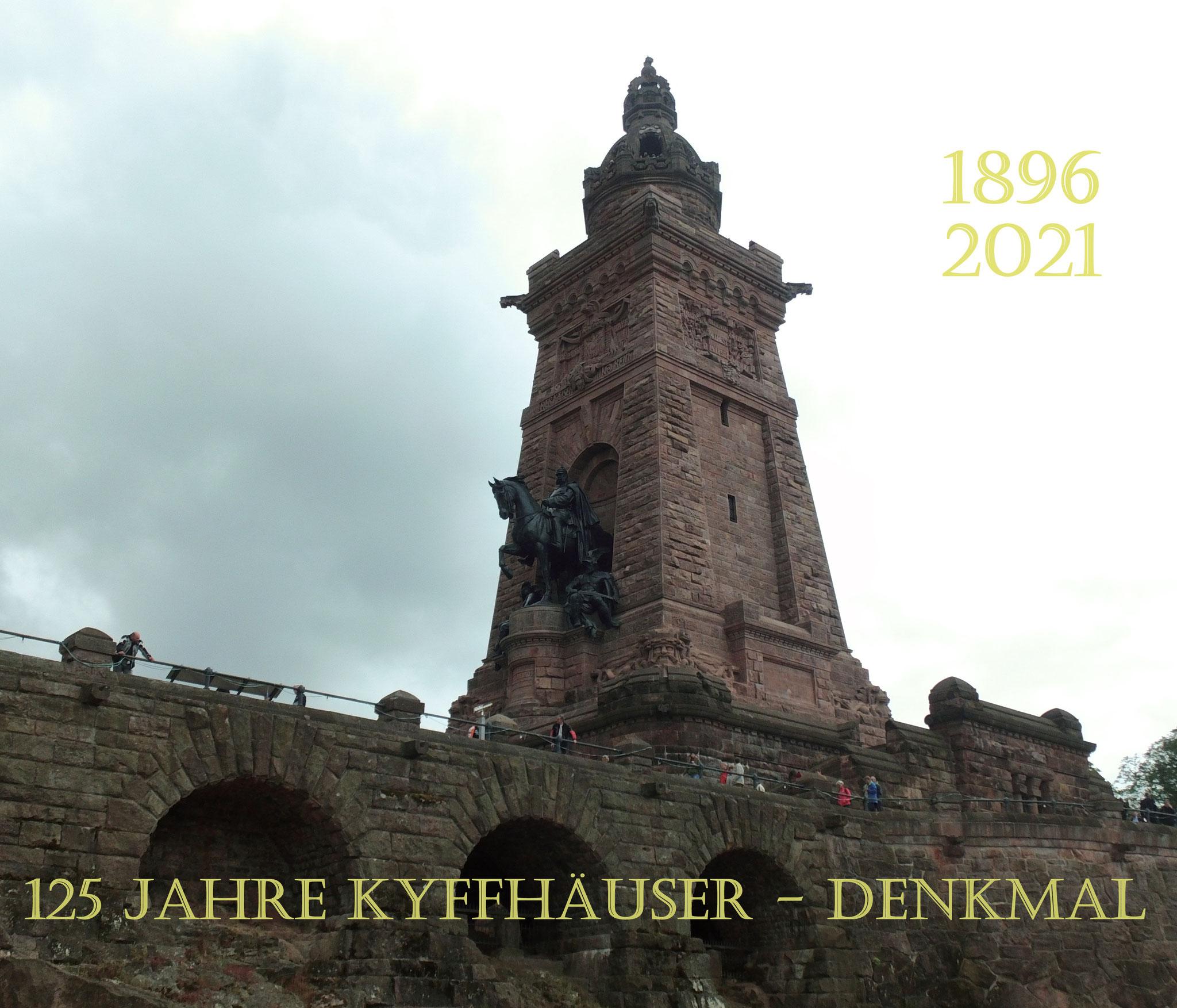 125 Jahre Kyffhäuser-Denkmal.