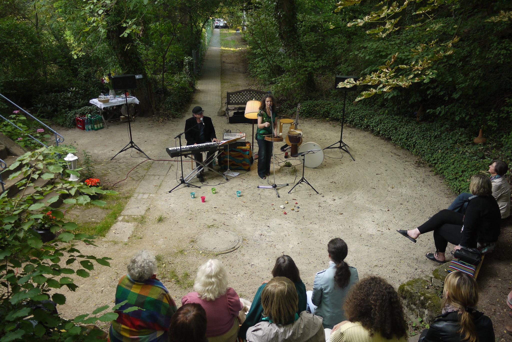 22.07.2012 Duo Herzton (mit Karel Kaiser) im Lichthaus Cadolzburg