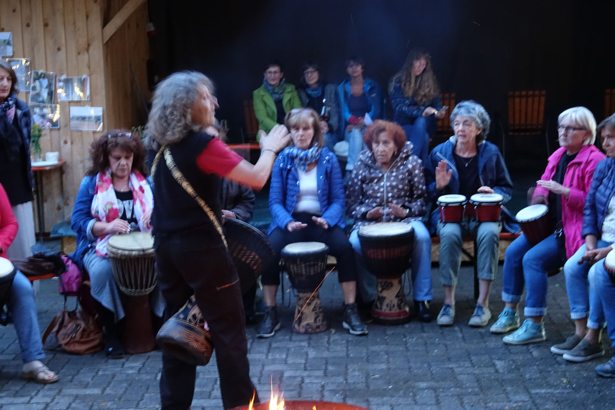 11.07.2018 Benefitz - Musik- und Trommlerfest Lauterhofen (für ein Mädchenprojekt in Togo) mit Claudia Stöckel-Lang, Maria Eder-Poll, Georgina