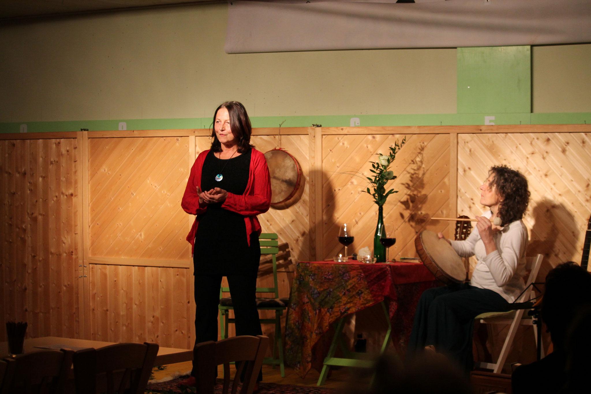 11.02.2017 Märchen und Musik in Daßwang mit der Märchenerzählerin Petra Hasengier