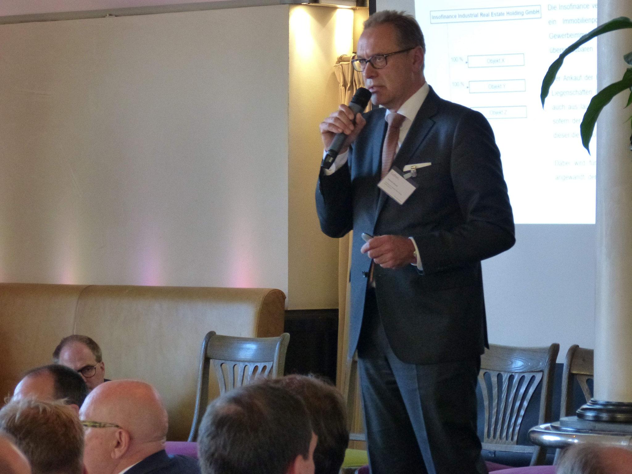 Heinrich Strauß, Geschäftsführer (Insofinance Industrial Real Estate Holding GmbH)