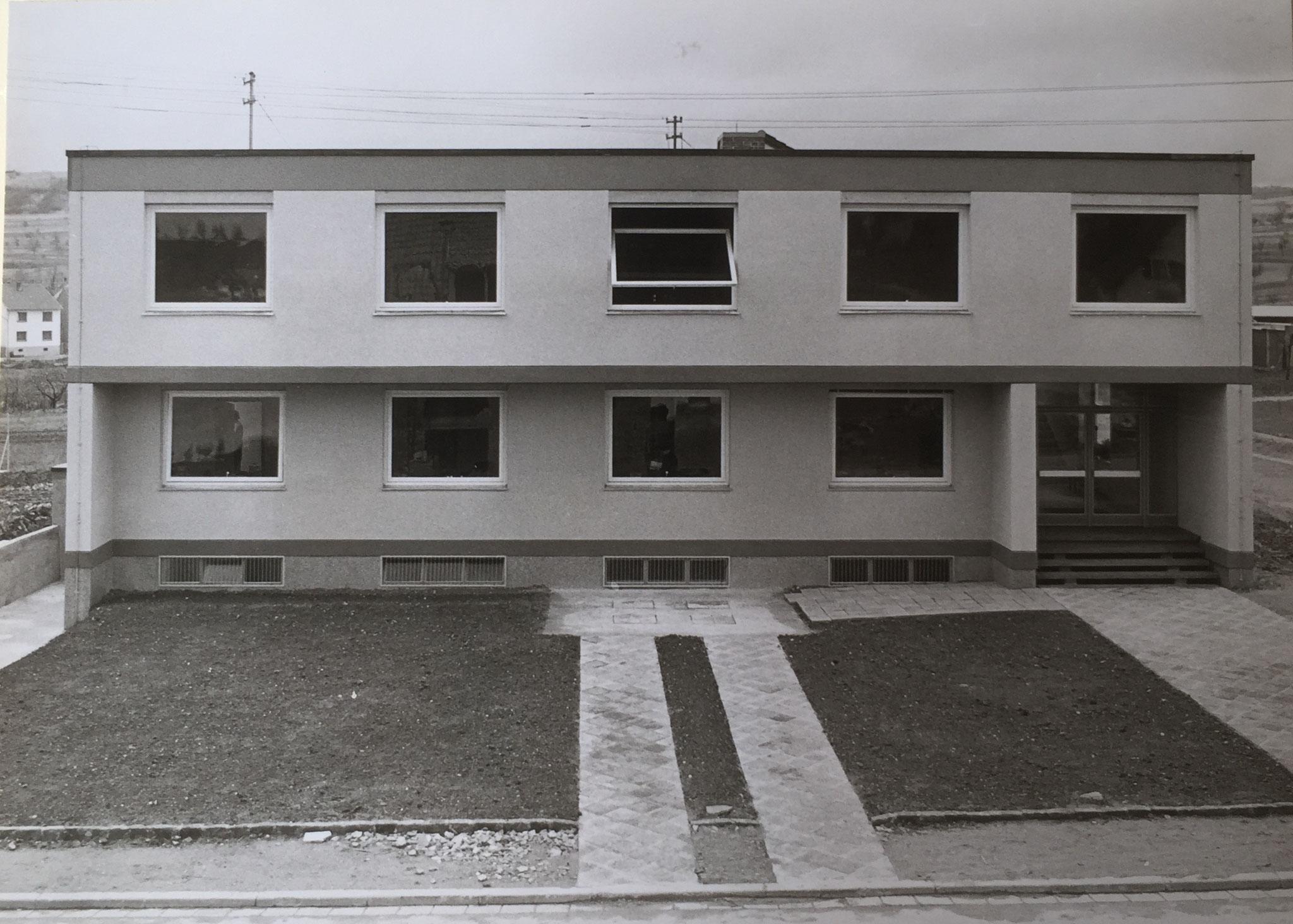 Rathauseinweihung am 10. November 1963