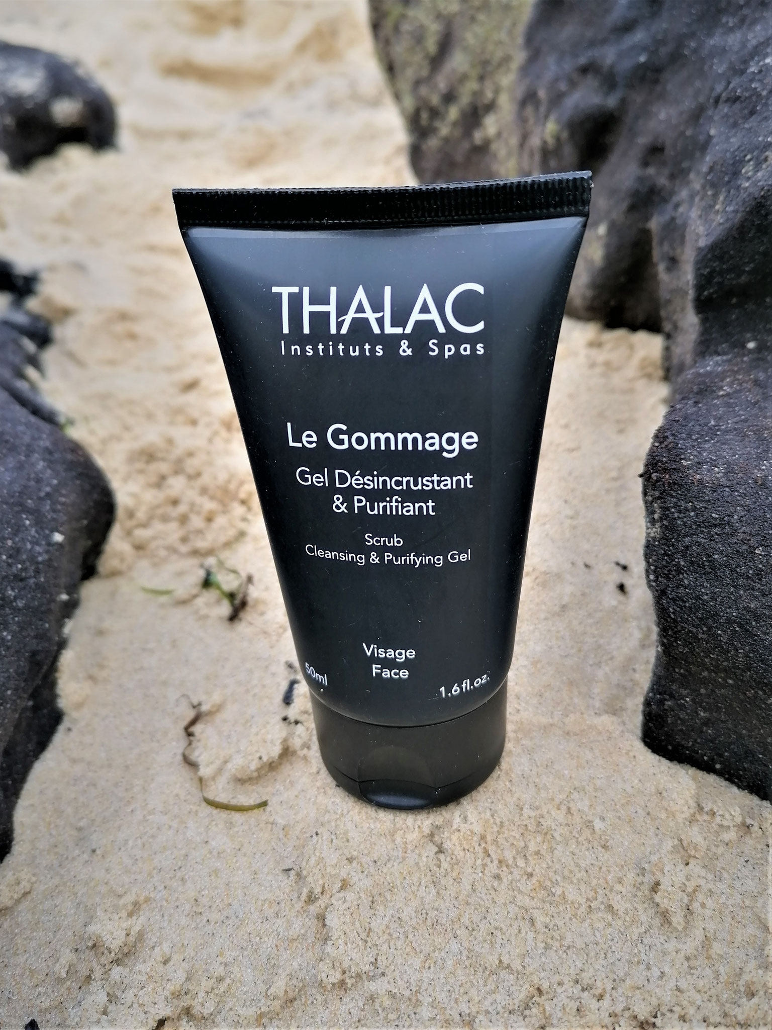 Soin Visage - Le Gommage Homme 50 ml - 23,00 €