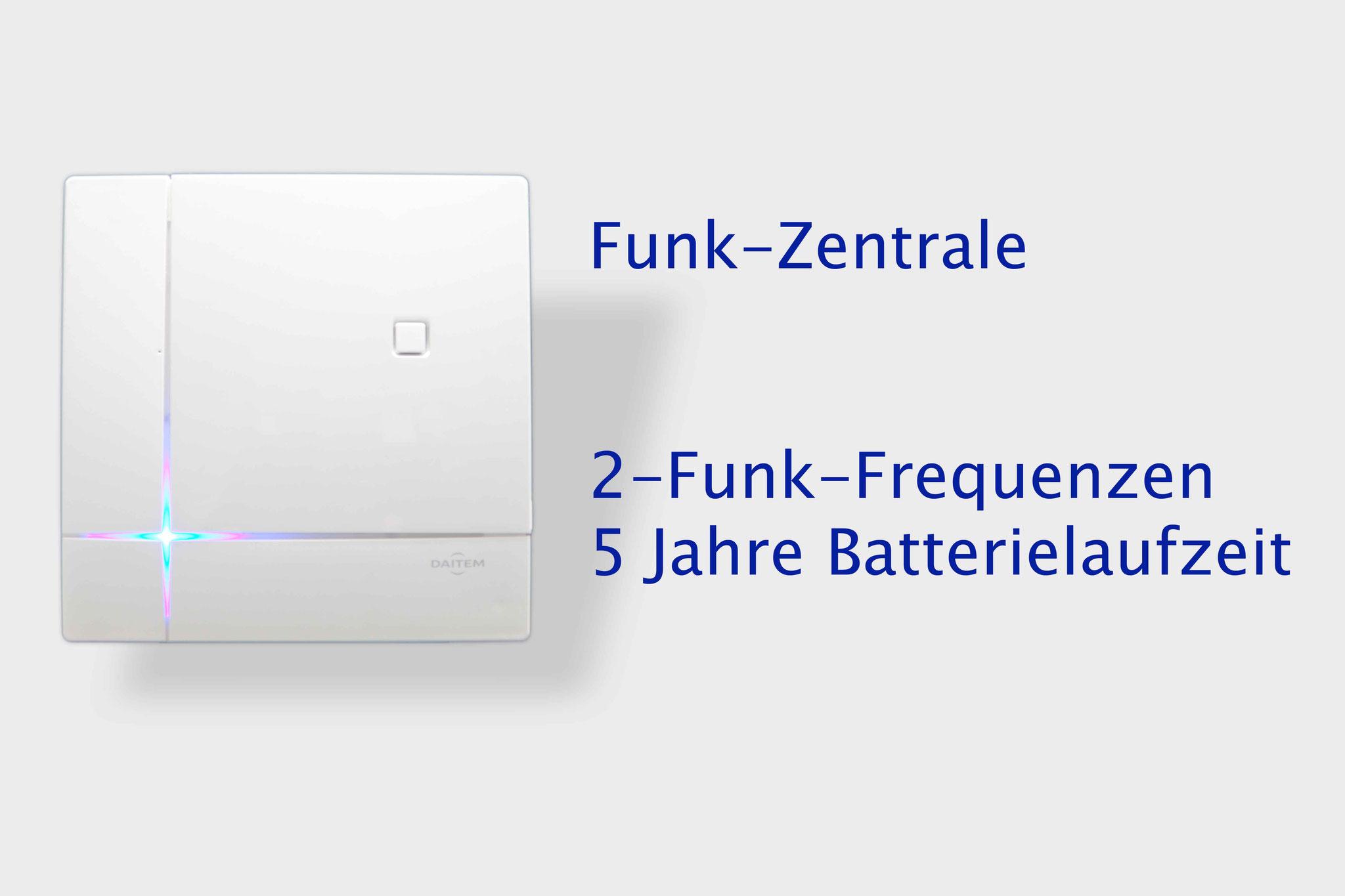 Funk Zentrale D22 mit 5 Jahre Batterielaufzeit
