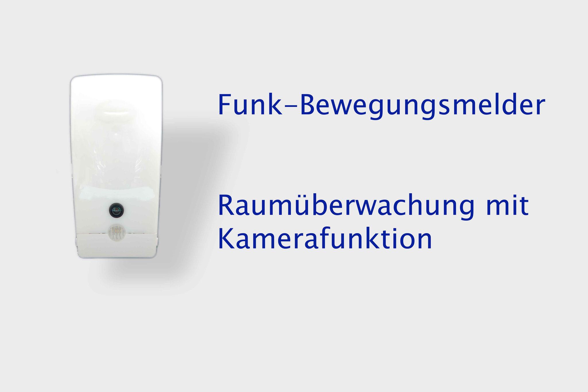 Funk Bewegungsmelder plus Kamerafunktion