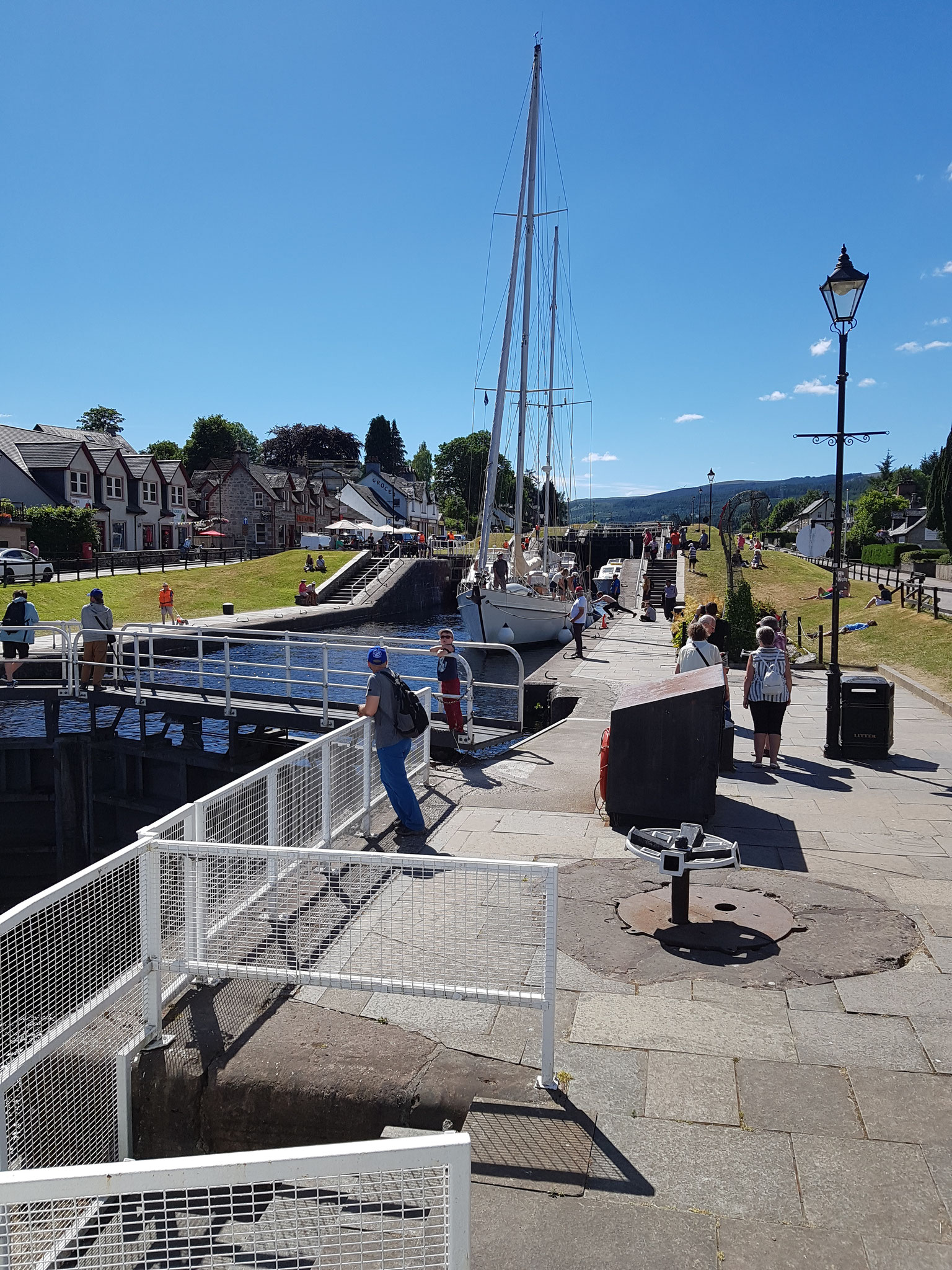 Locks in Fort Augustus